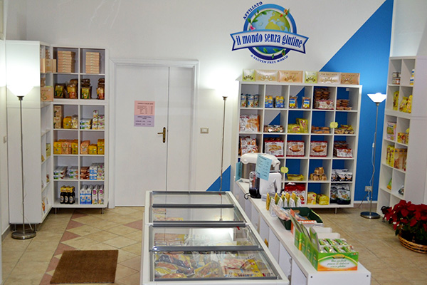 L' interno del negozio