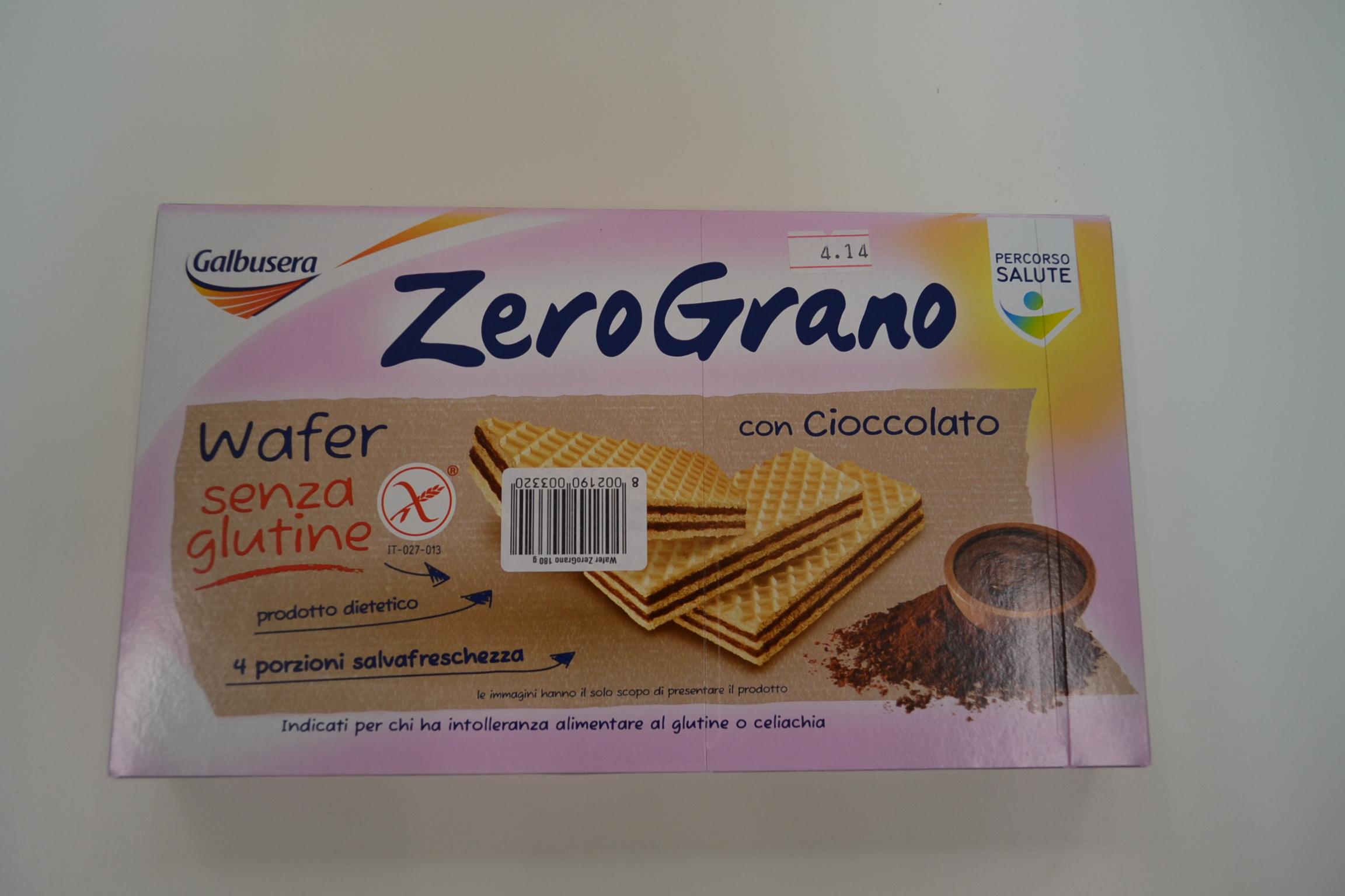 wafer al cacao GALBUSERA