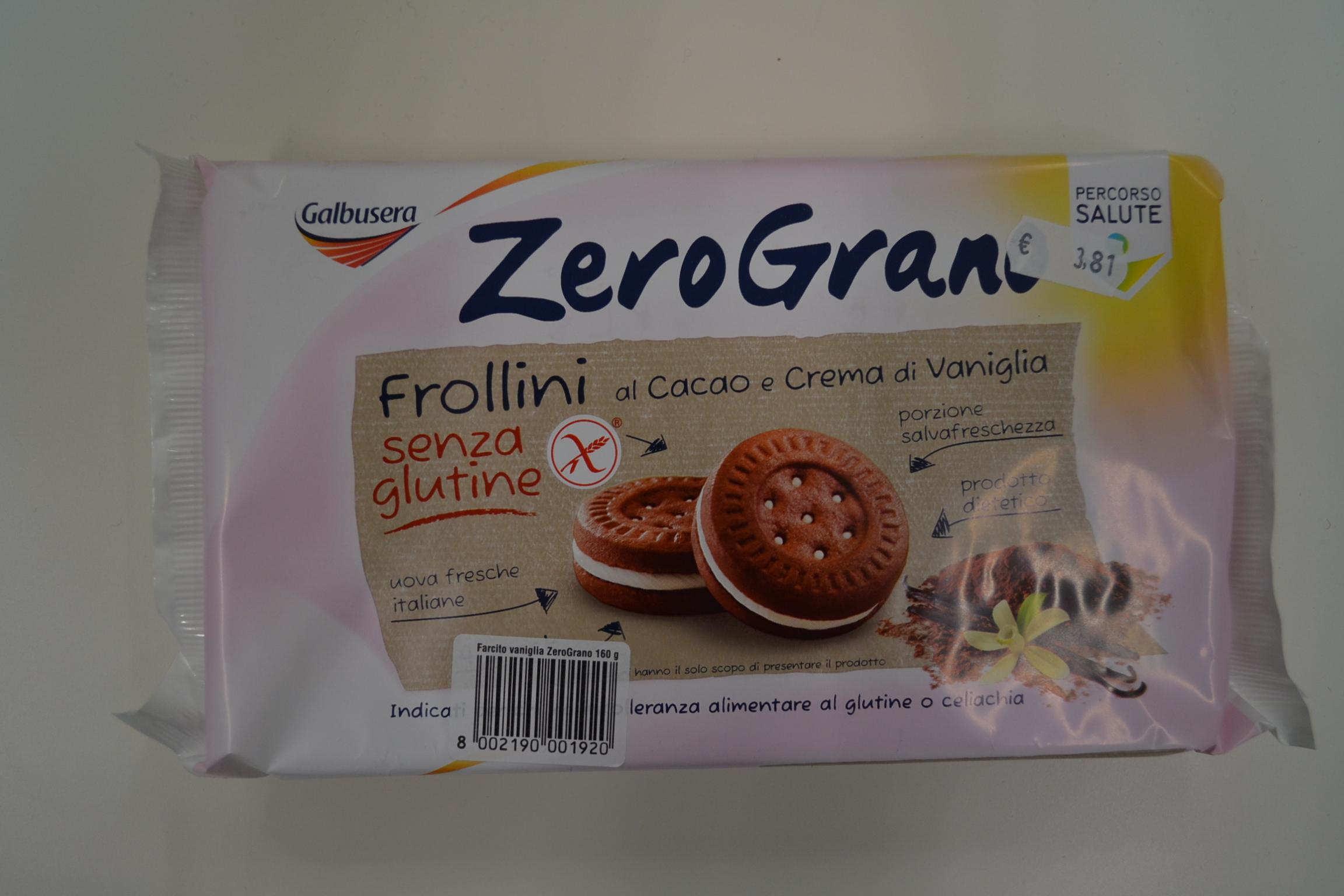 Frollini al cacao e crema vaniglia GALBUSERA