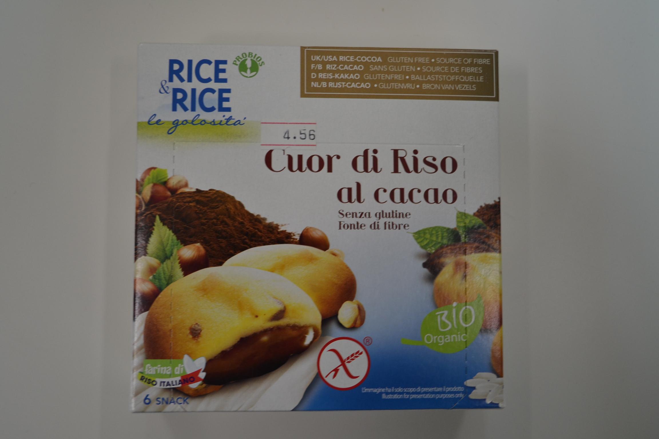 Cuor di riso al cacao PROBIOS