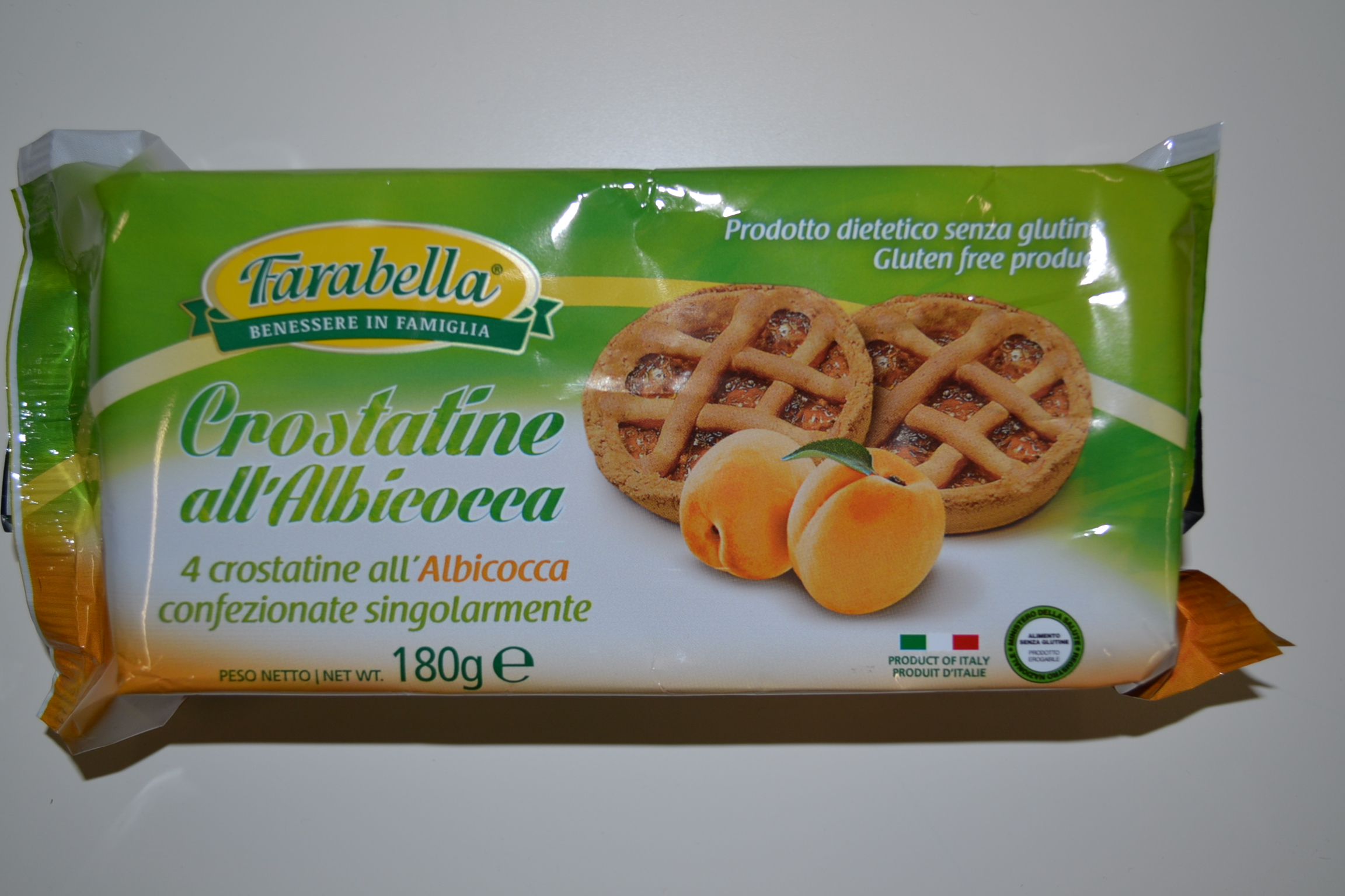 Crostatine all'albicocca FARABELLA