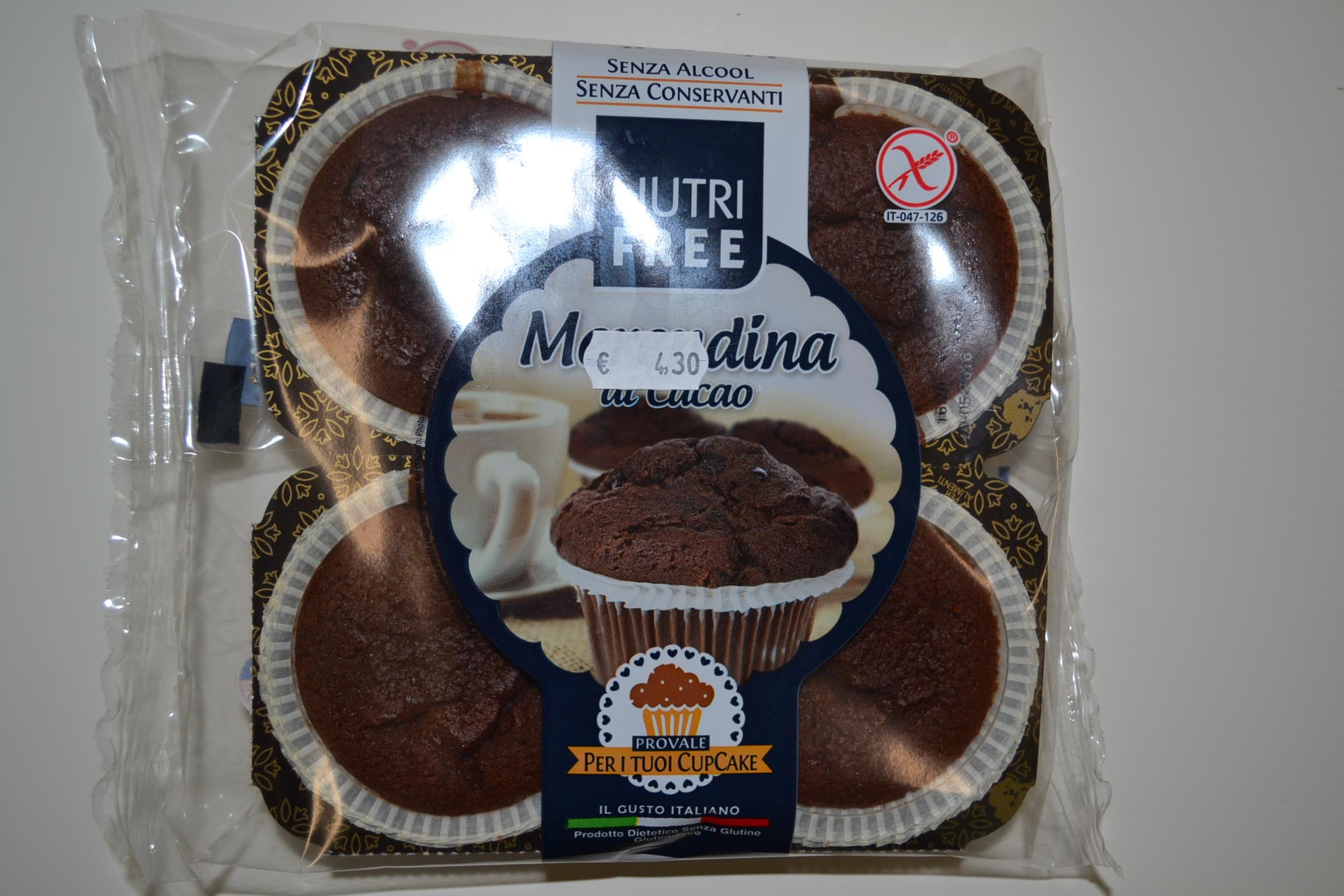 Merendina al cacao NUTRIFREE
