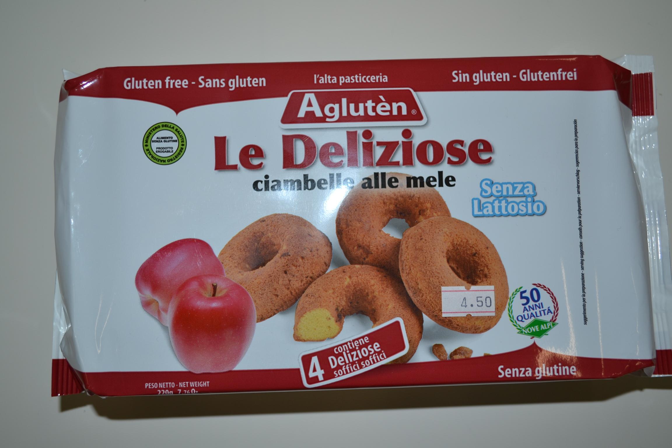 Le deliziose alle mele AGLUTEN