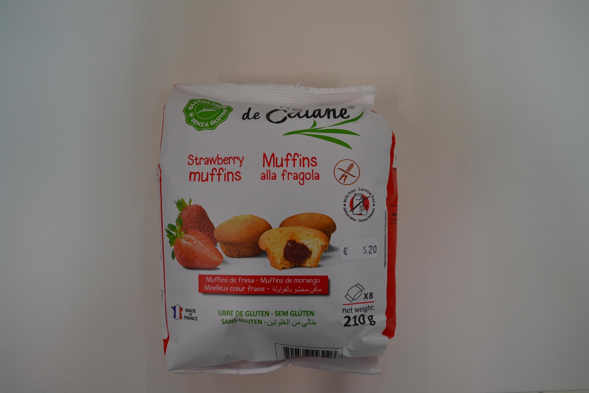 Muffins alla fragola LES RECETTES DE CELIANE