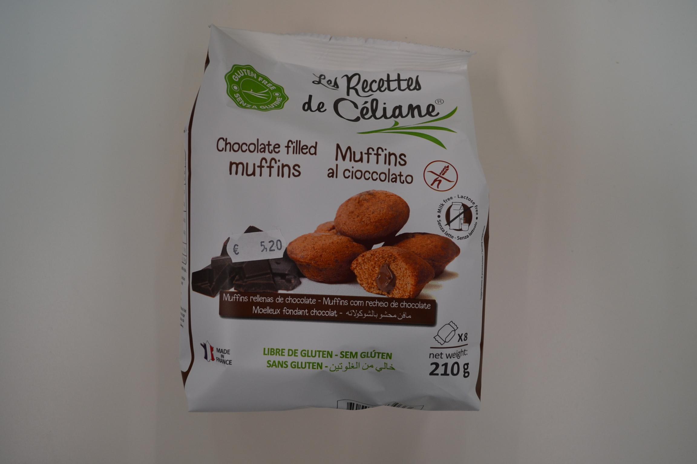 Muffins al cioccolato LES RECETTES DE CELIANE