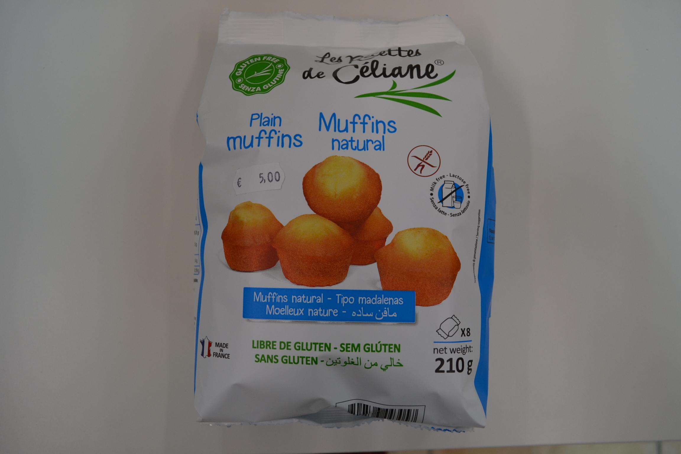 Muffins natural LES RECETTES DE CELIANE