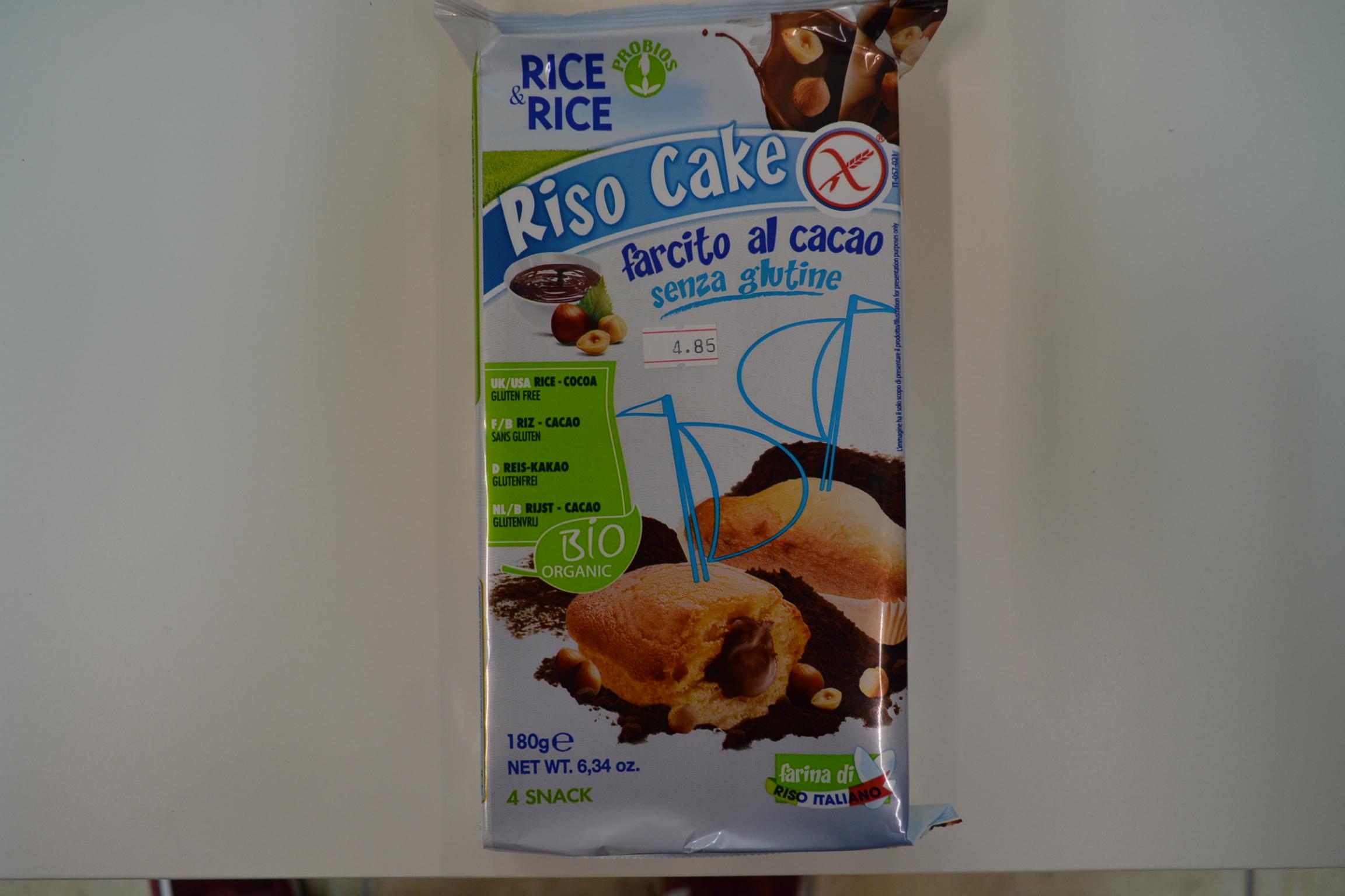 Riso cake al cacao PROBIOS
