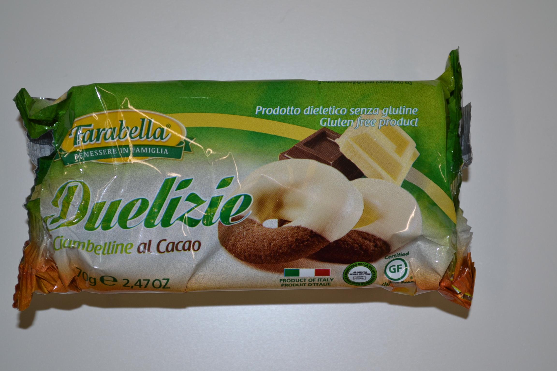 Duelizie ciambelline al cacao FARABELLA