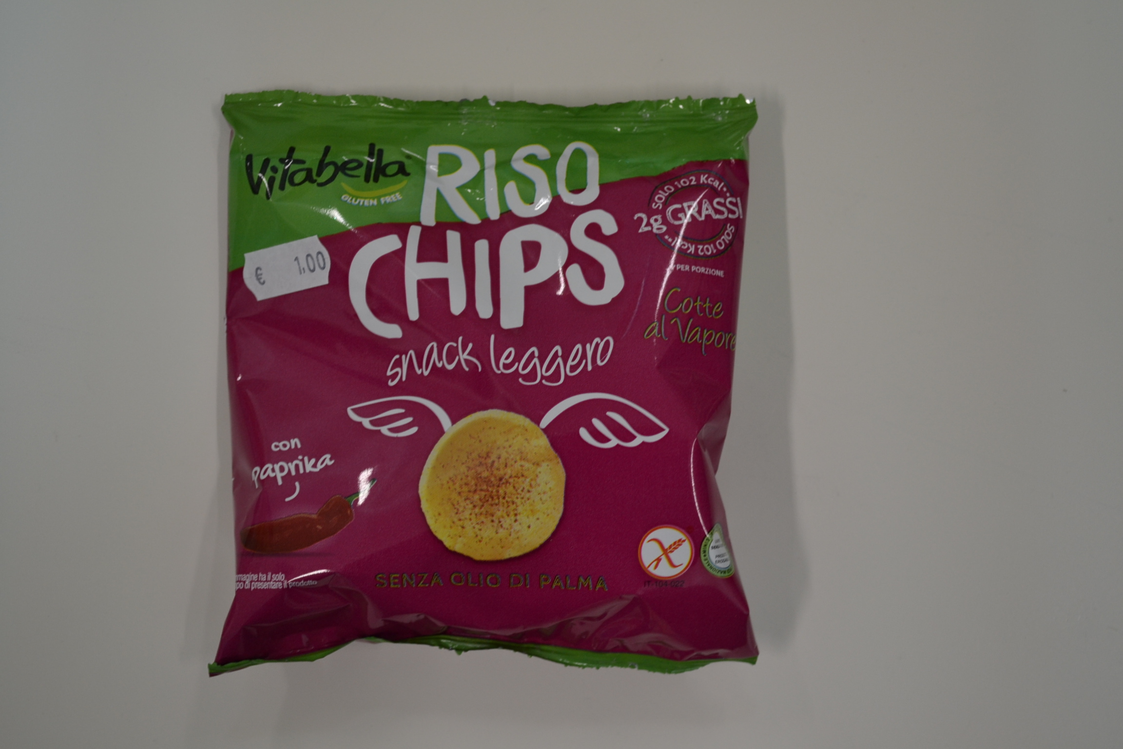 Riso chips alla paprika VITABELLA