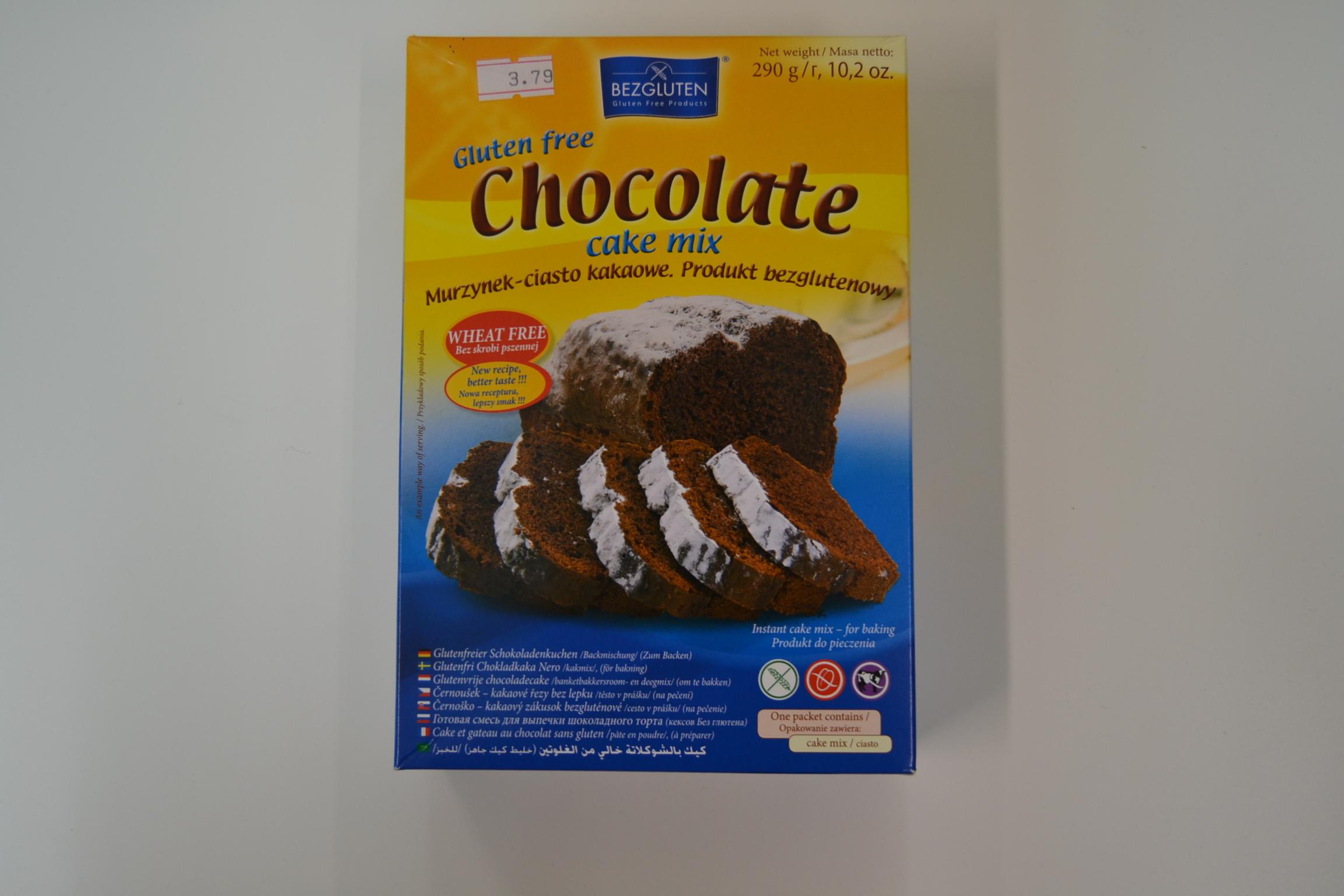 Preparato per torte al cioccolato BEZGLUTEN