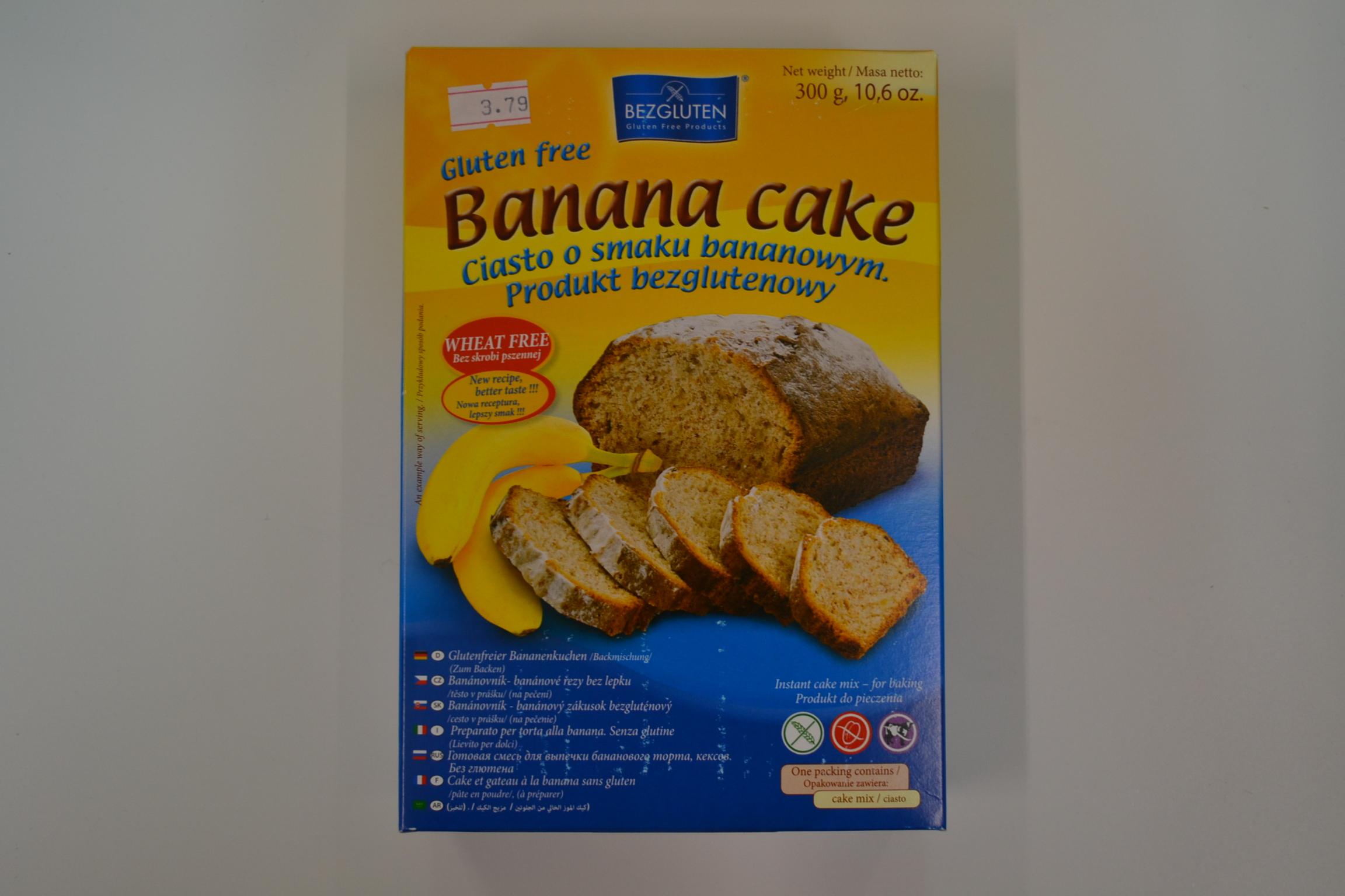 Preparato per torte alla banana BEZGLUTEN