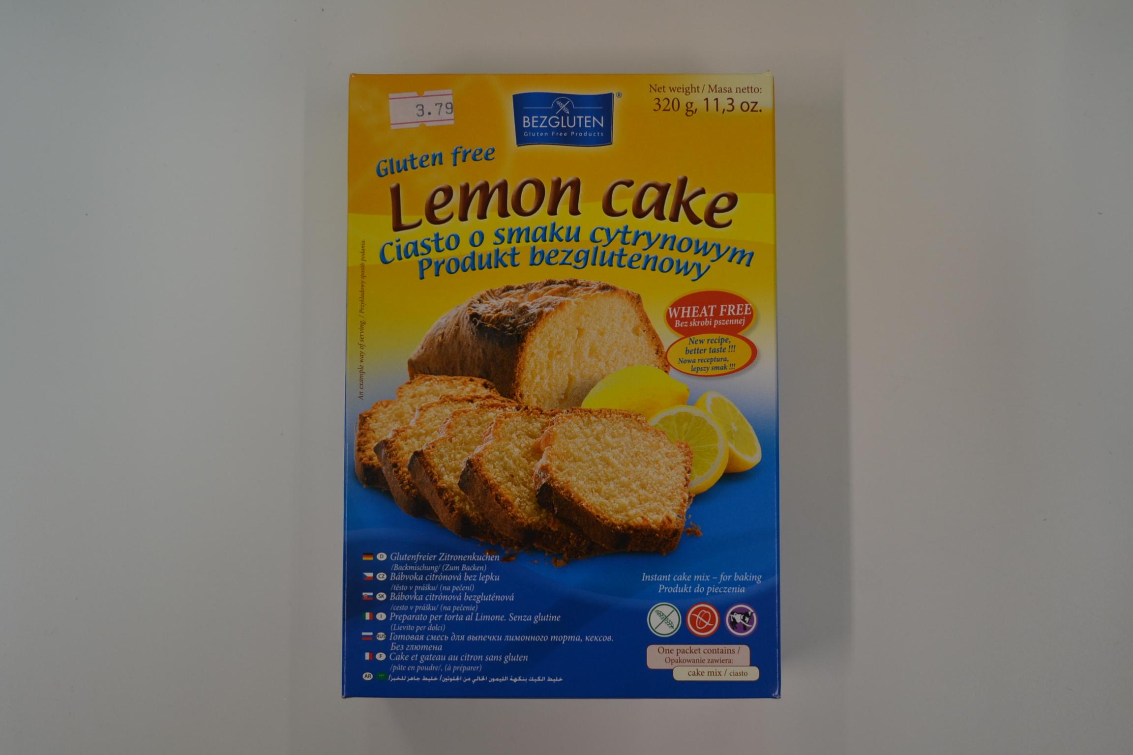 Preparato per torte al limone BEZGLUTEN