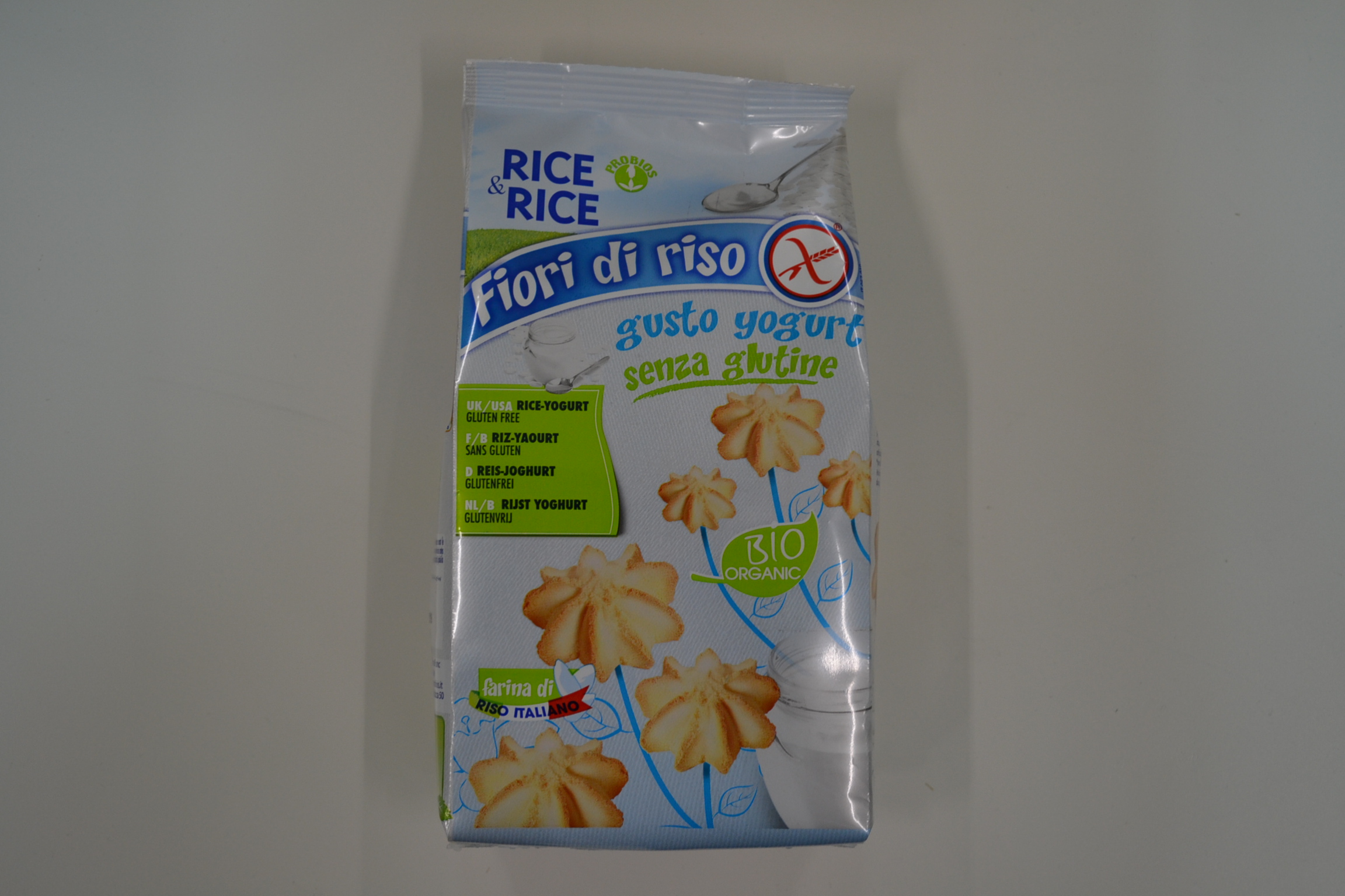 Fiori di riso gusto yogurt RICE&RICE