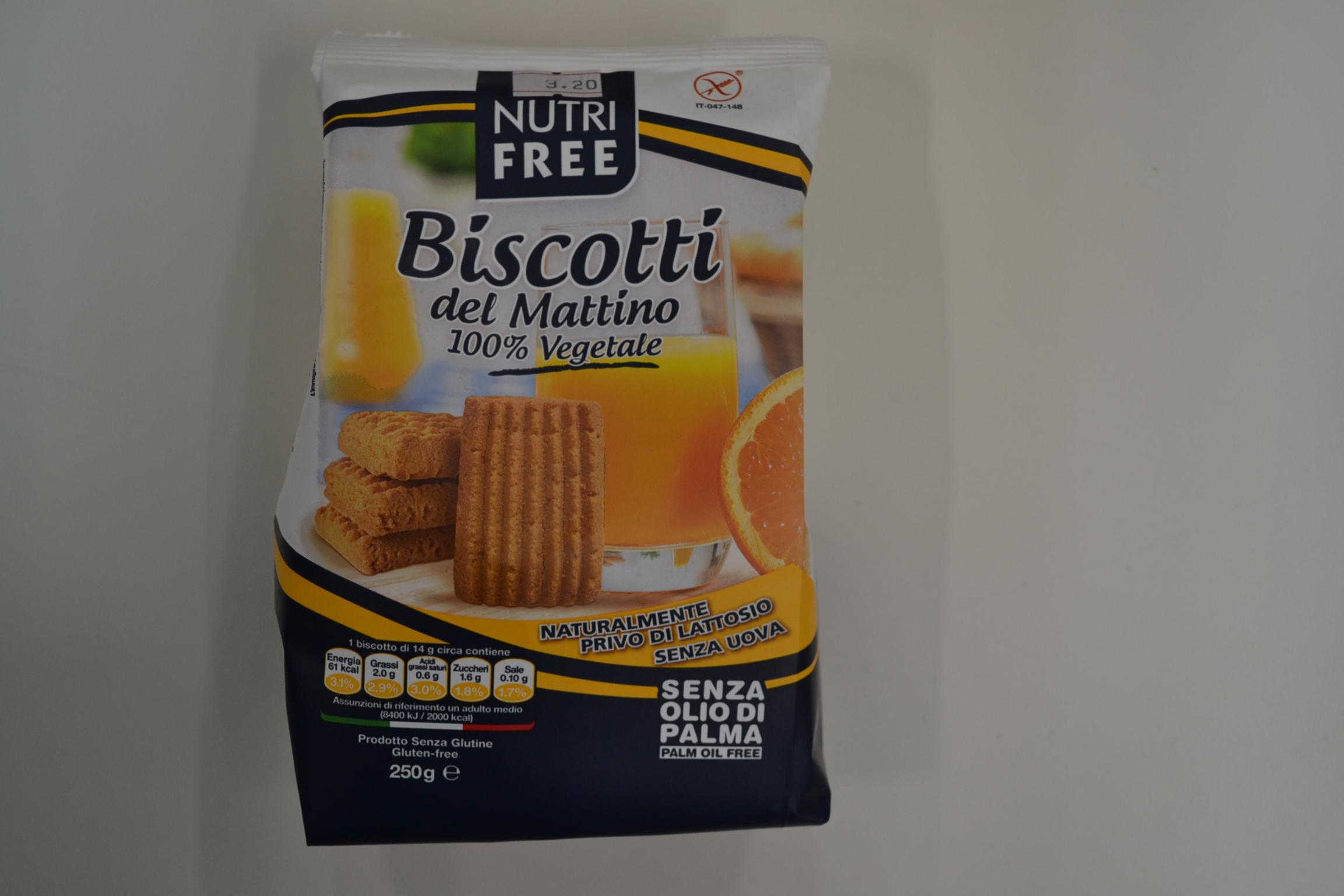 Biscotti del mattino NUTRI FREE