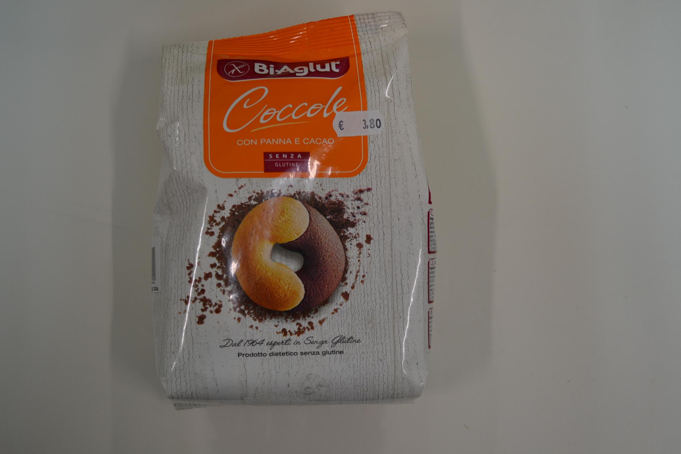 Coccole con panna e cacao BIAGLUT