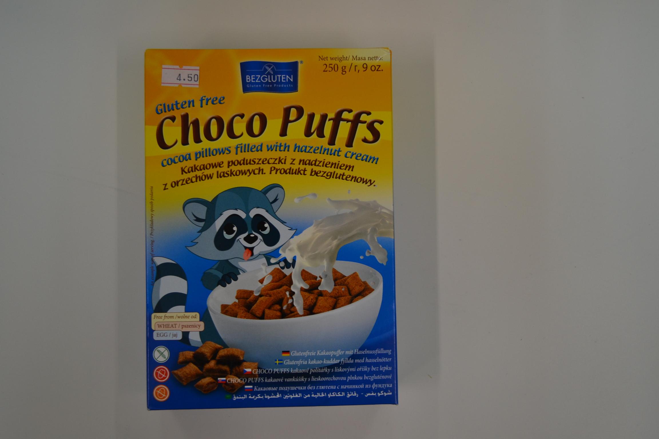 Choco puffs BEZGLUTEN
