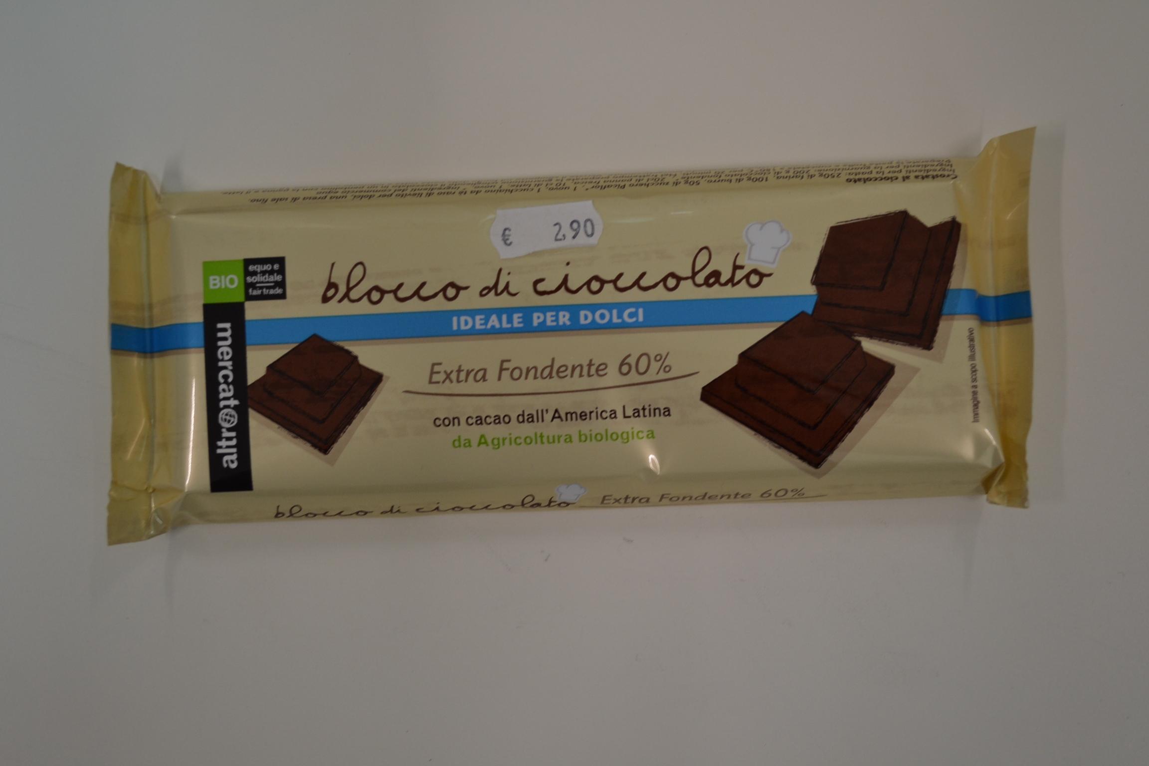 Blocco di cioccolato ALTROMERCATO