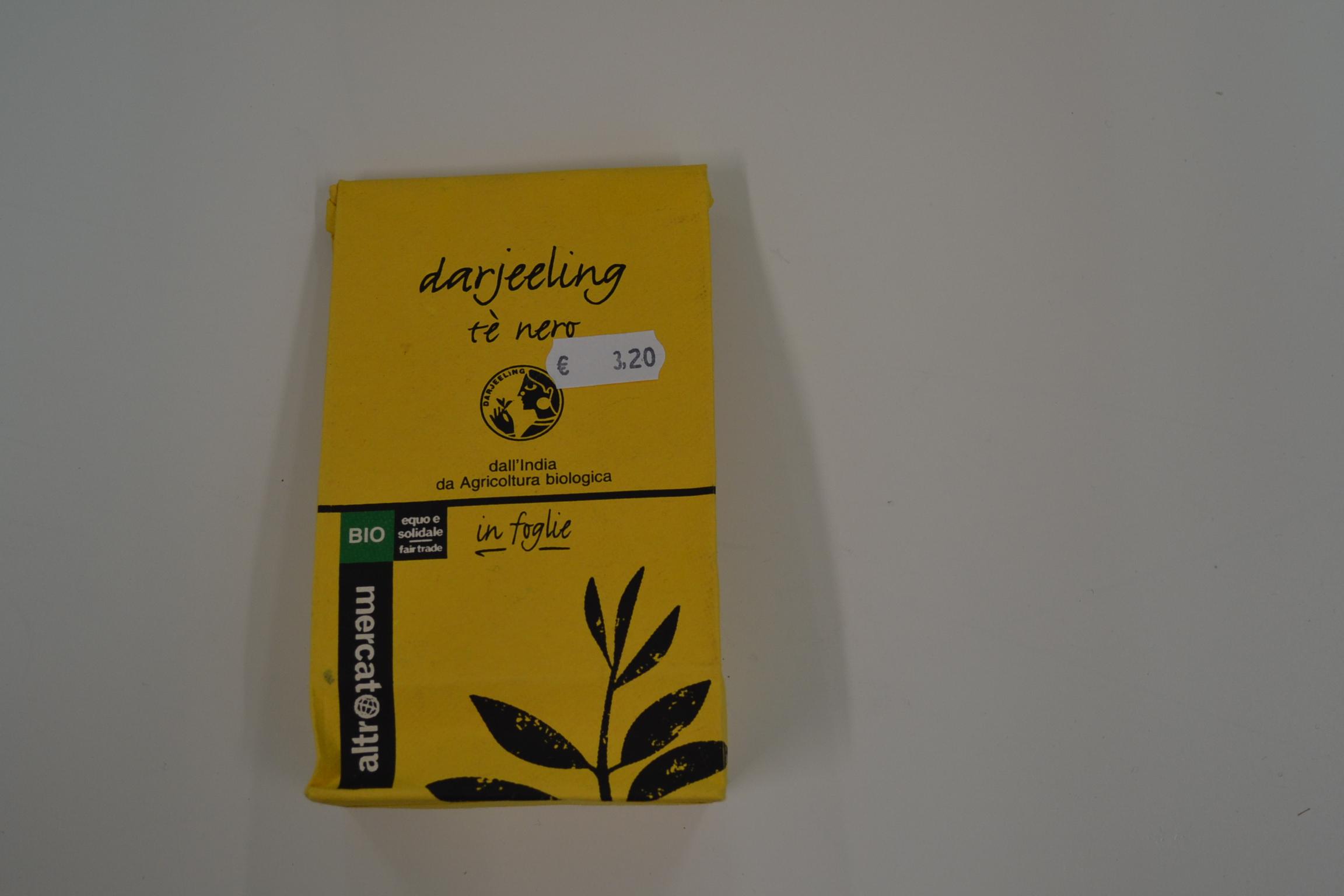 Darjeeling the nero in foglie ALTROMERCATO € 3,20