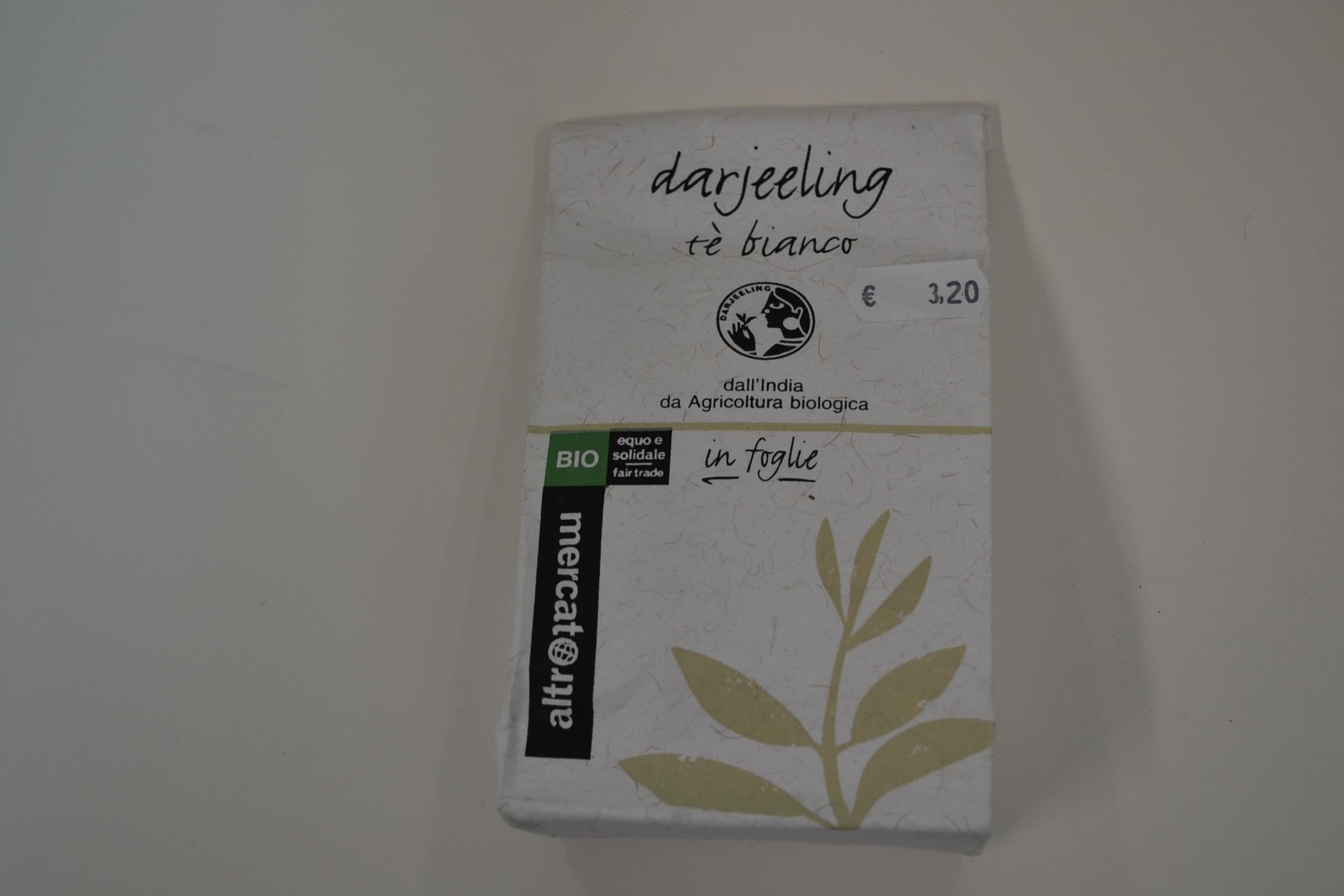 Darjeeling the bianco in foglie ALTROMERCATO € 3,20