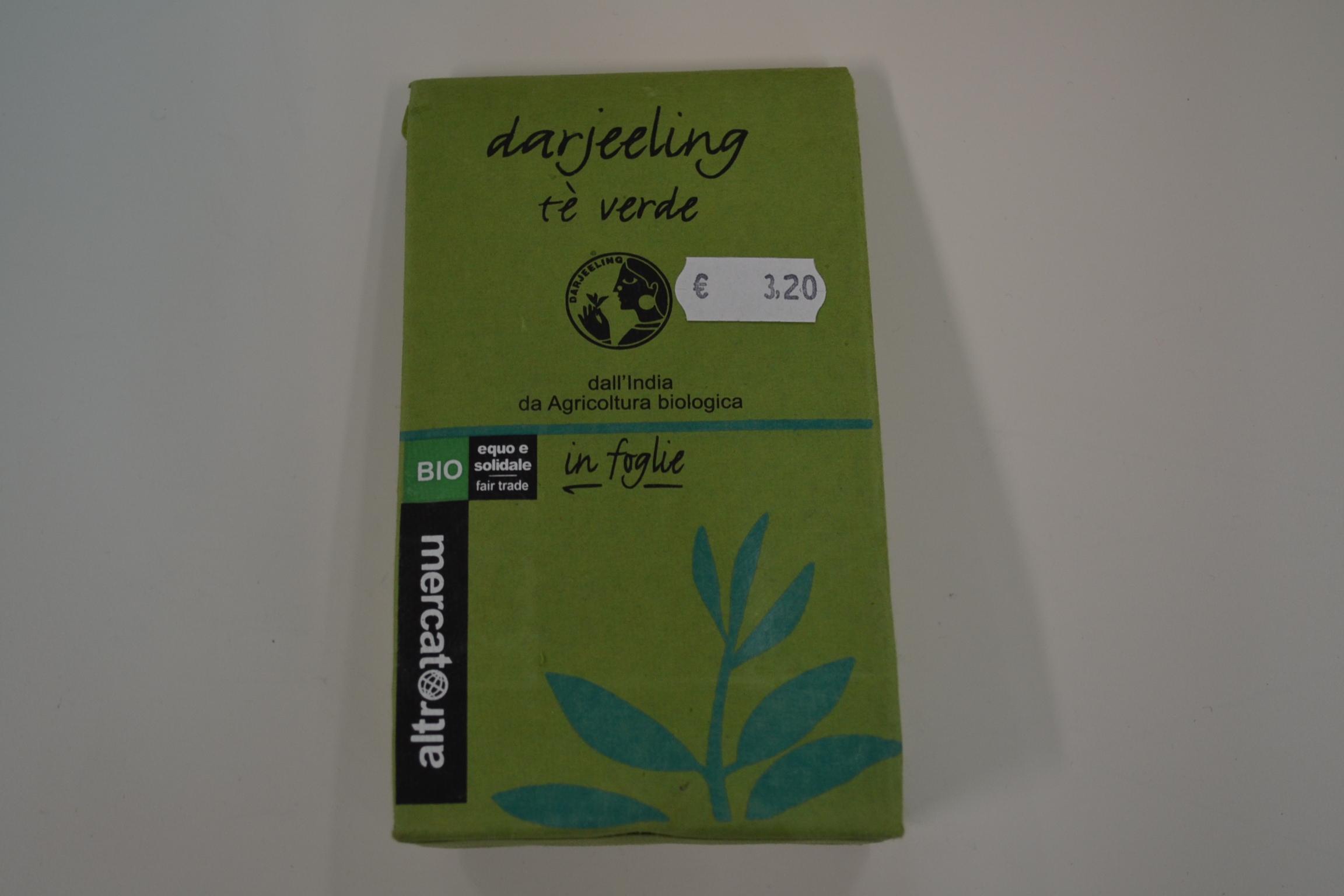 Darjeeling the verde in foglie ALTROMERCATO € 3,20