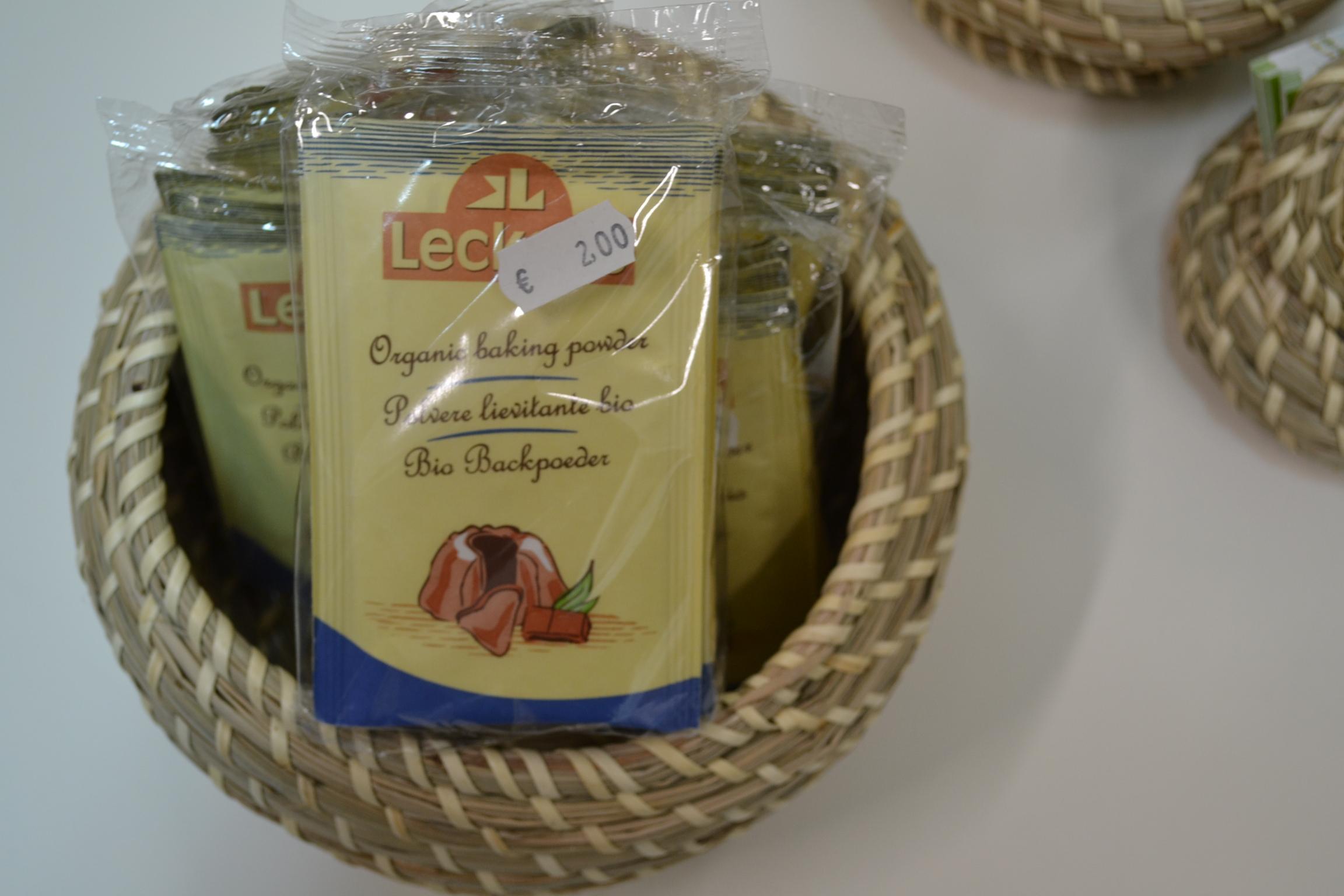 Cremor tartaro – Lievito biologico € 2,00