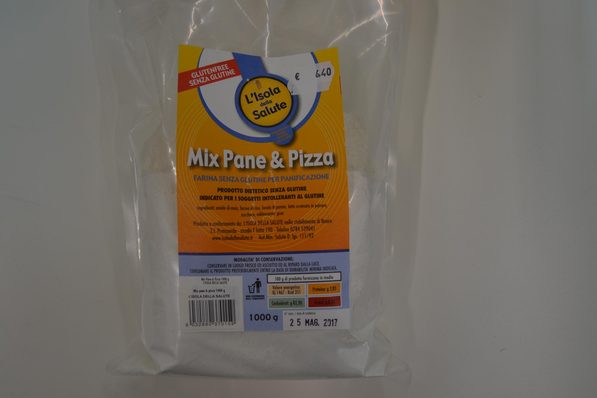 Mix pane e pizza KG. 1 ISOLA DELLA SALUTE € 6,40