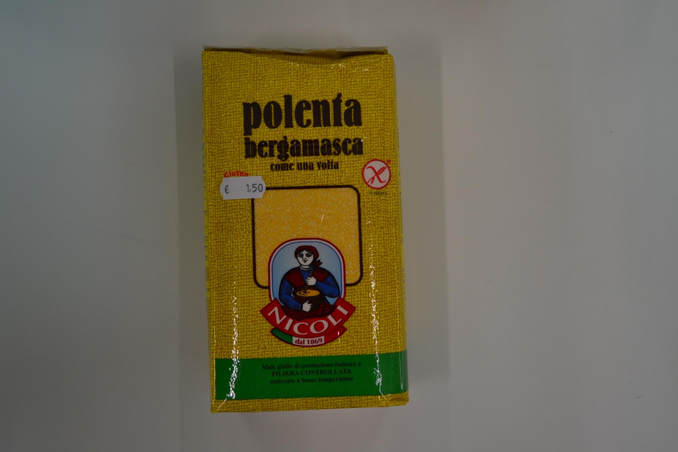 Polenta bergamasca NICOLI € 1,50