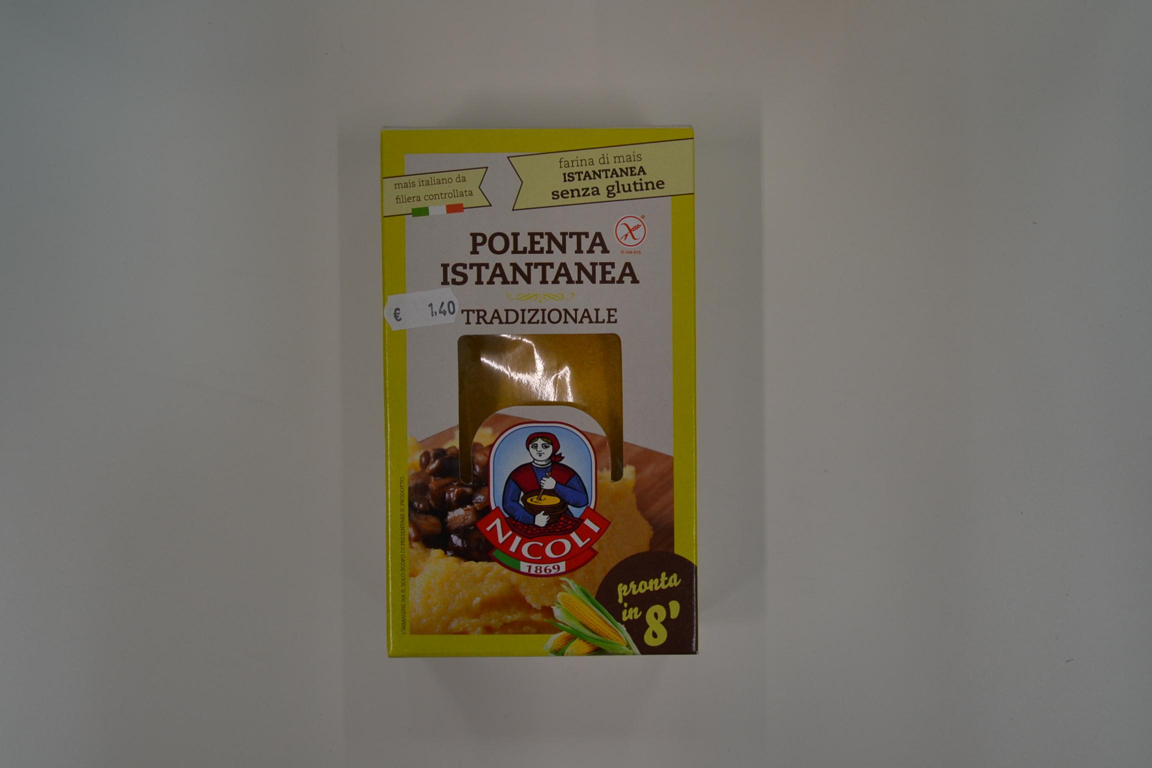 Polenta istantanea NICOLI € 1,40
