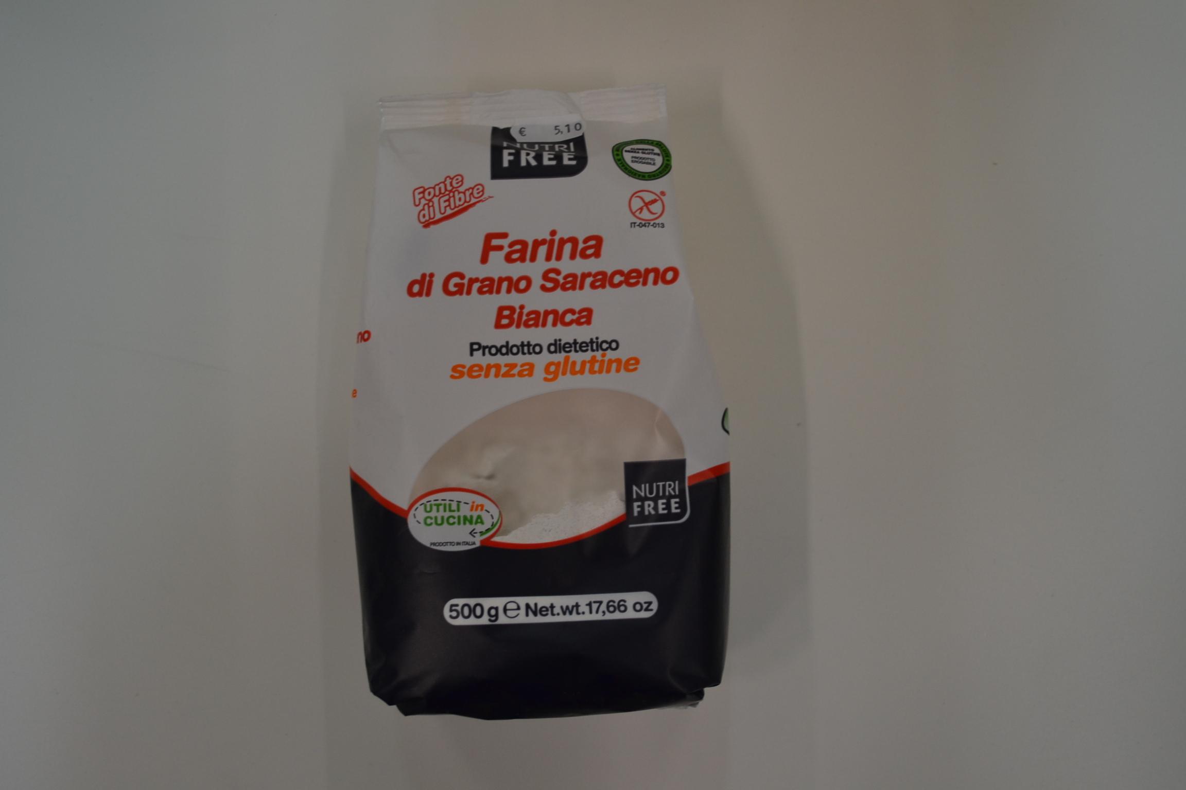 Farina di grano saraceno bianca NUTRI FREE € 5,10