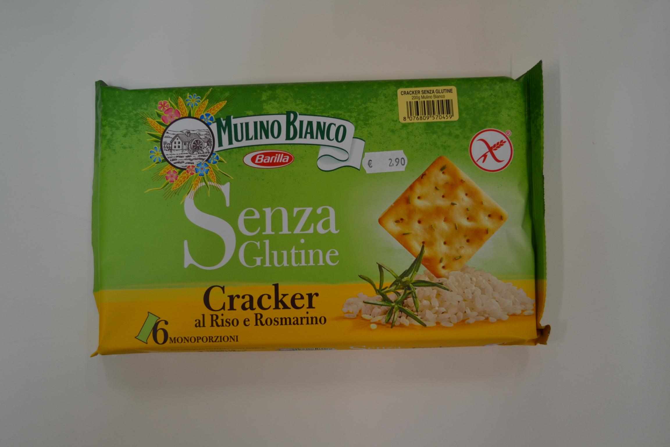 Cracker al riso e rosmarino MULINO BIANCO € 2,90