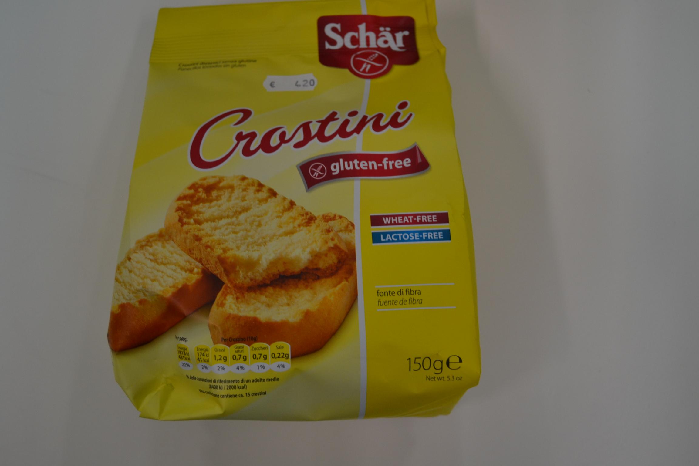 Crostini SCHAR € 4,20