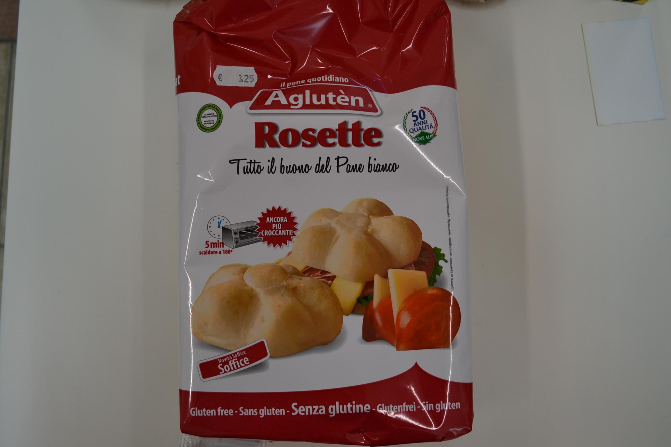Rosette AGLUTEN € 3,25