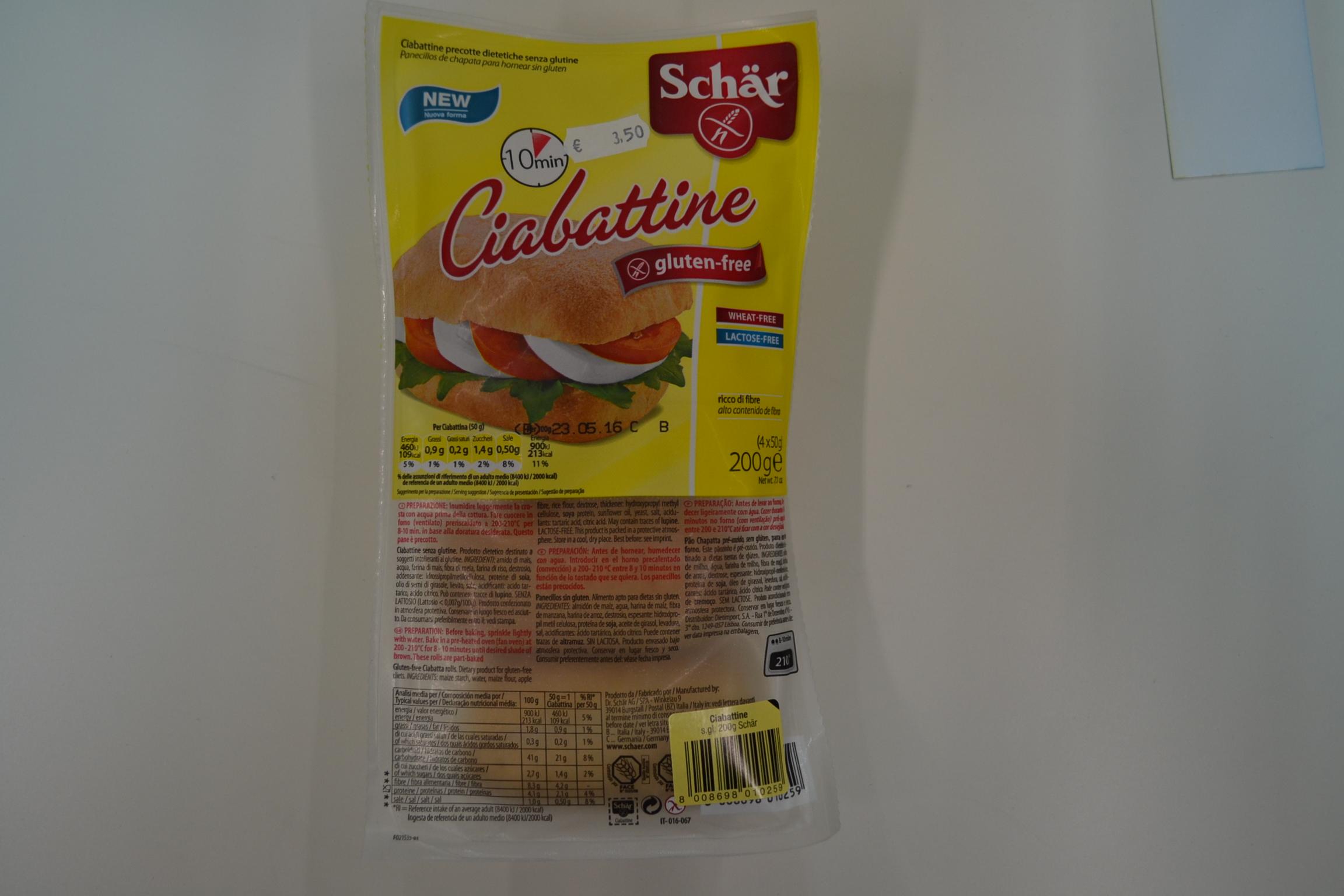 Ciabattine SCHAR € 3,50