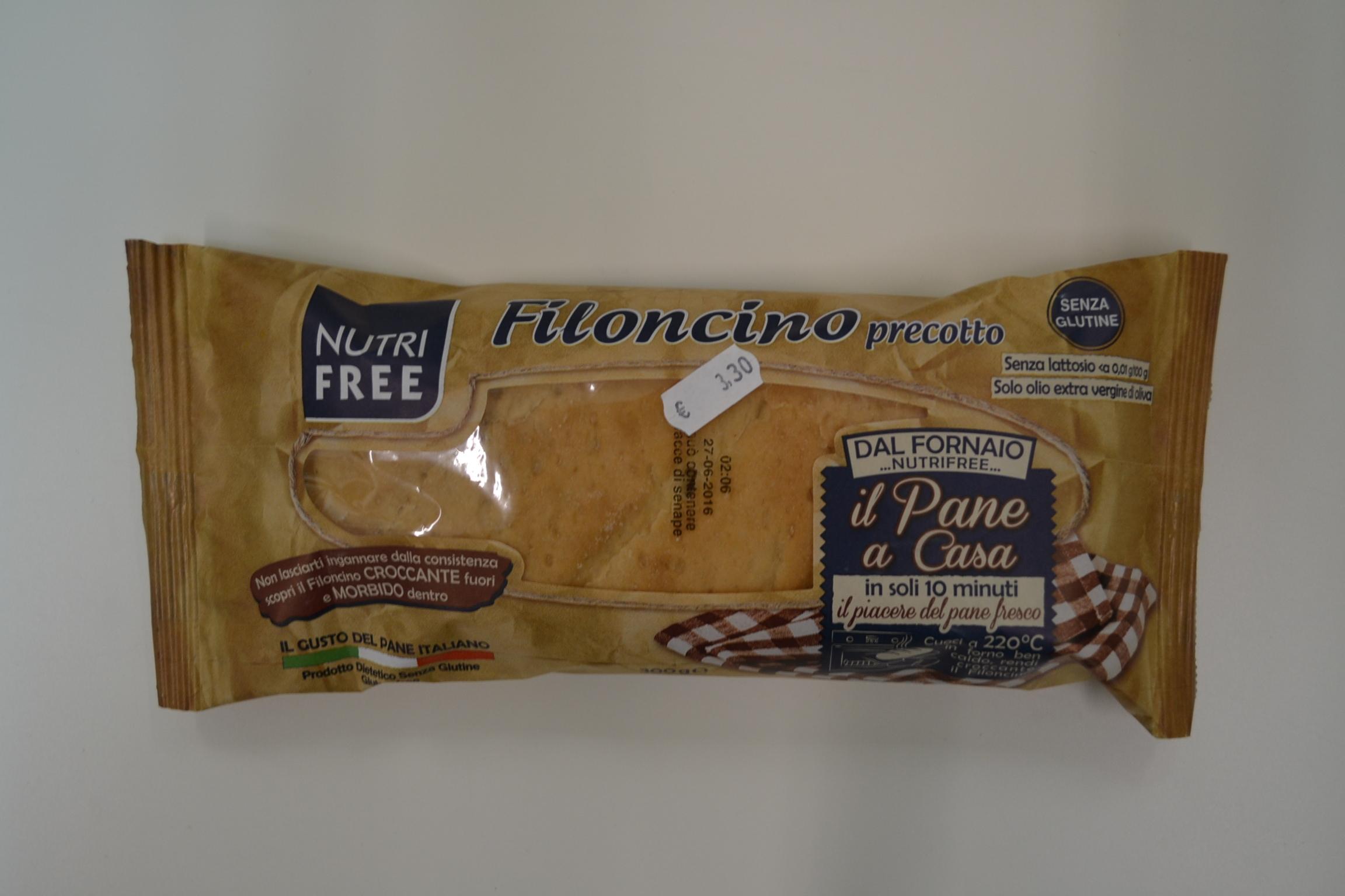 Filoncino precotto NUTRIFREE € 3,30
