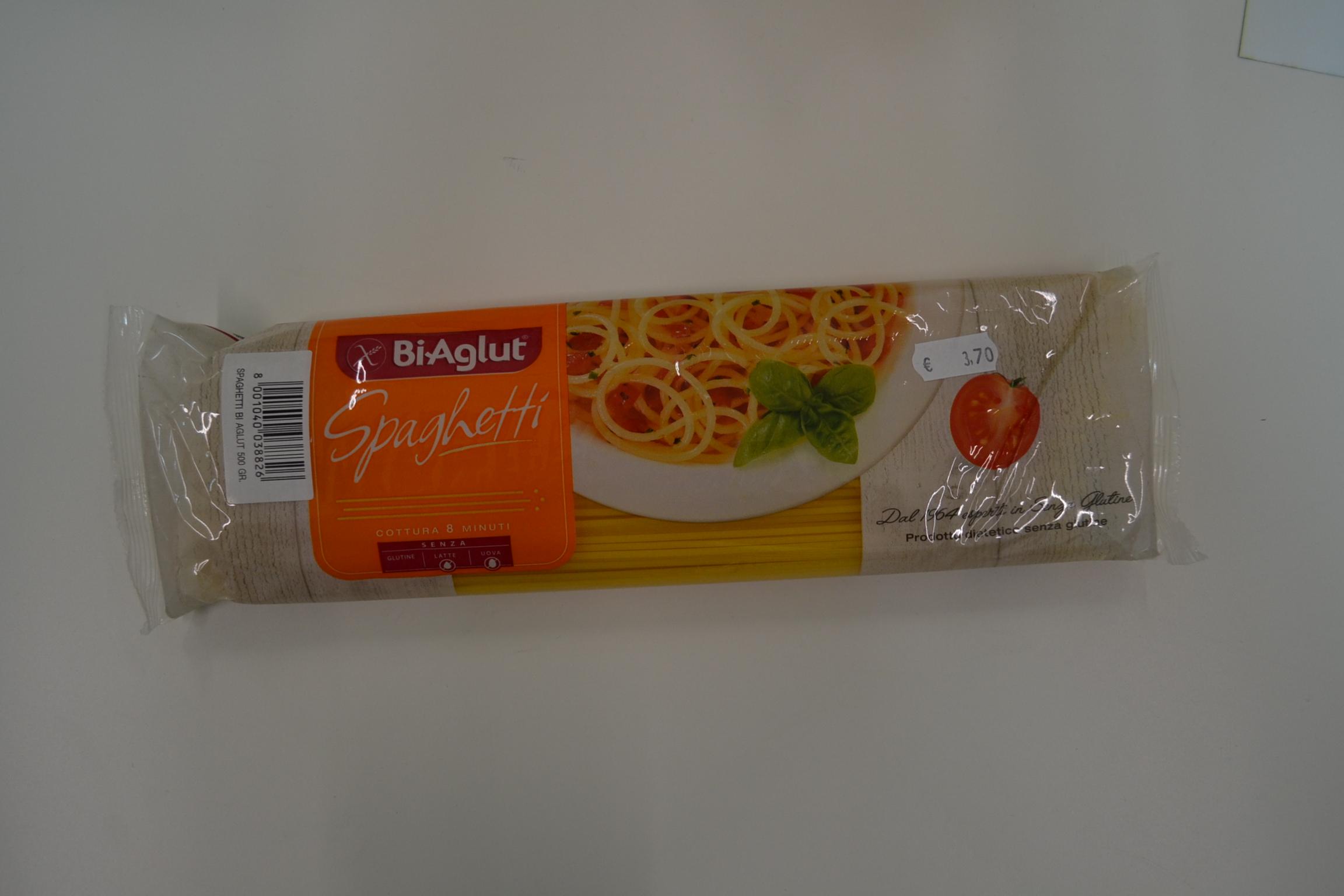 Spaghetti BIAGLUT € 3,70