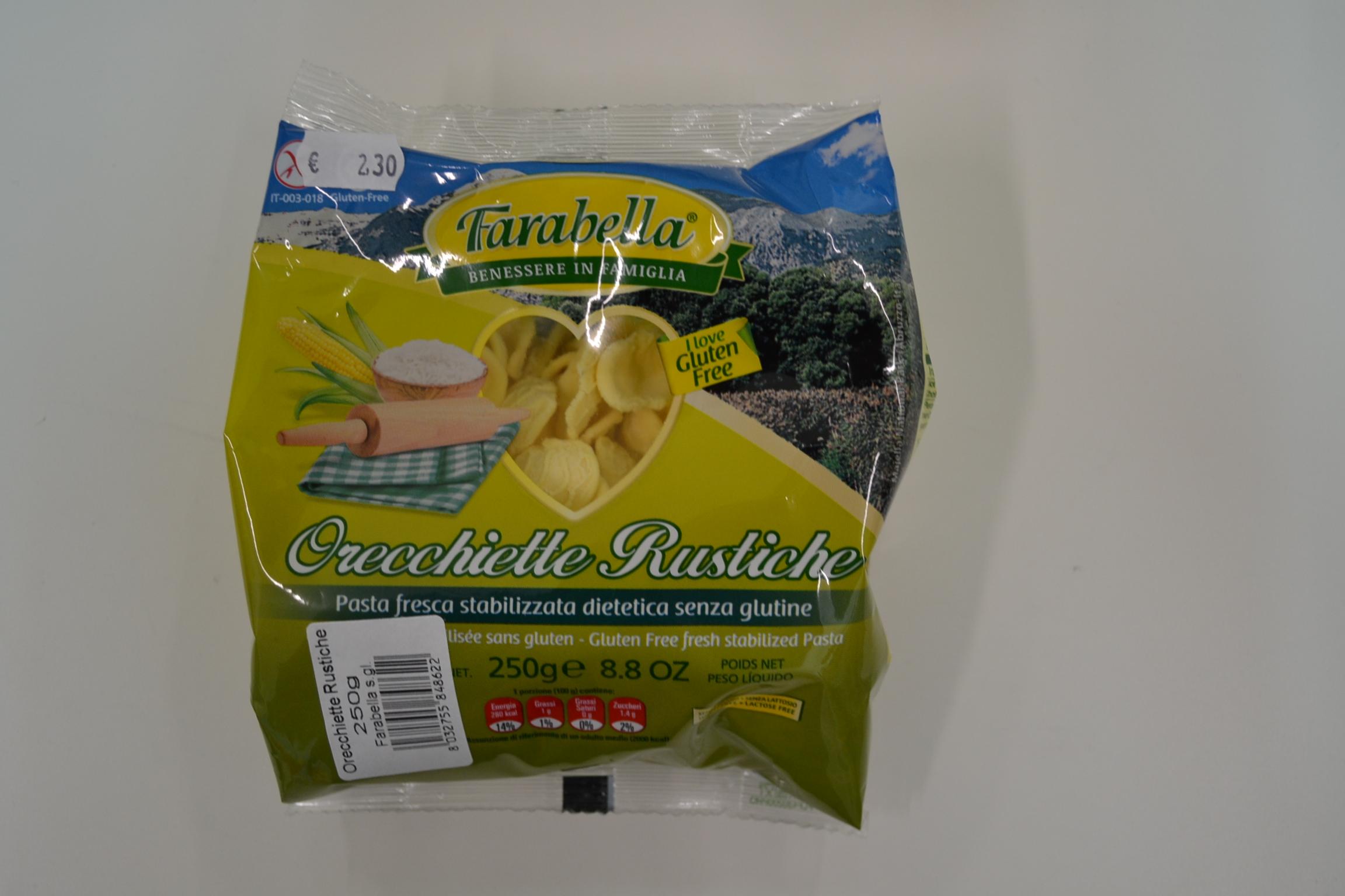 Orecchiette rustiche FARABELLA € 2,30