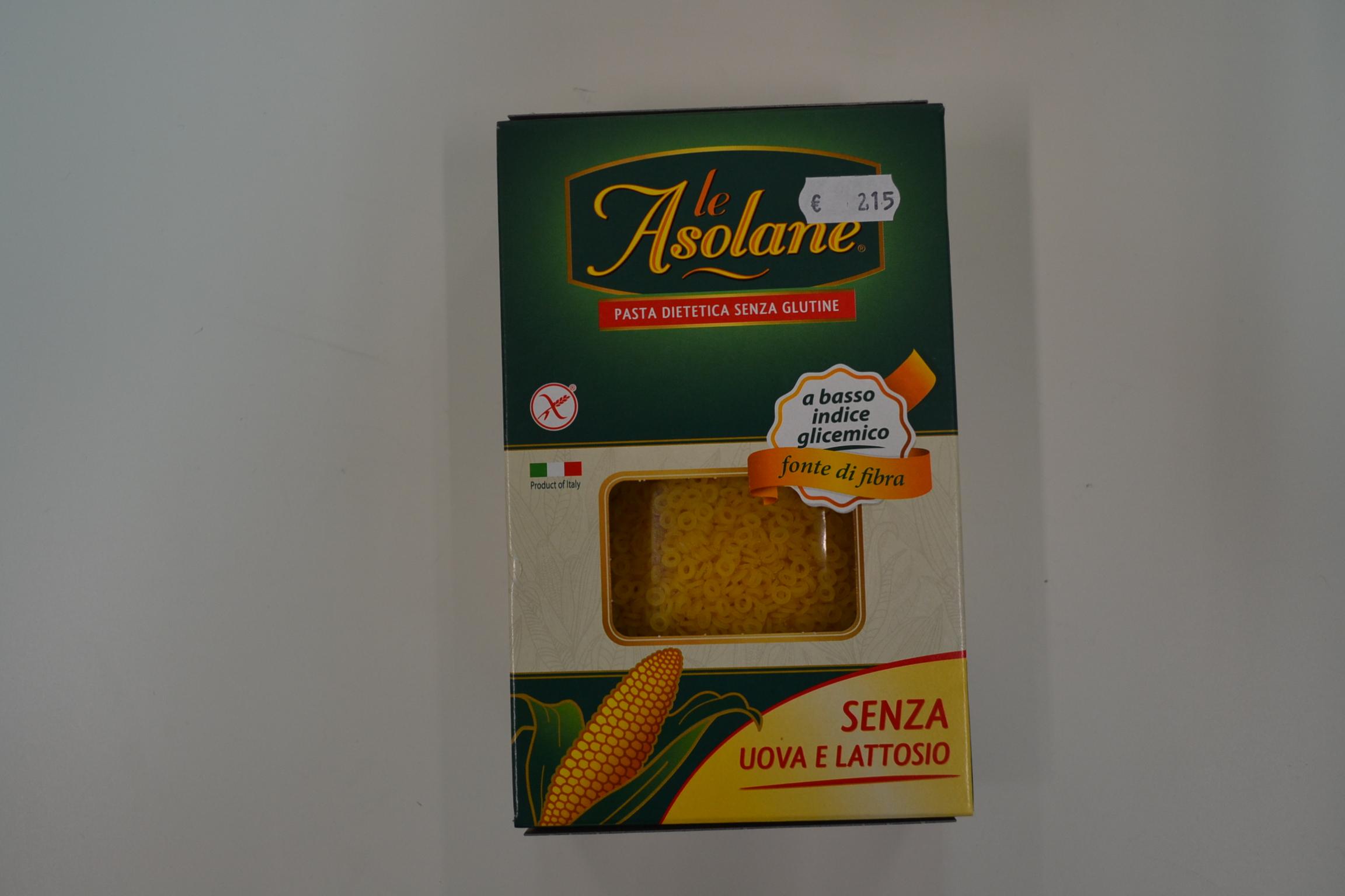 LE ASOLANE (fonte di fibre) €2,15