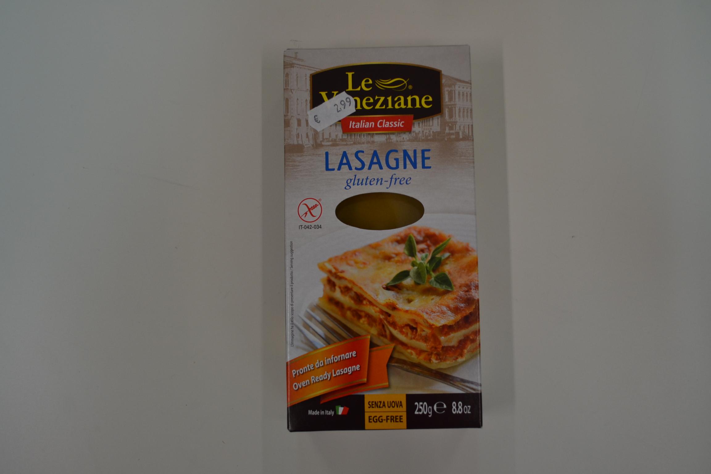 Lasagne LE VENEZIANE € 2,99