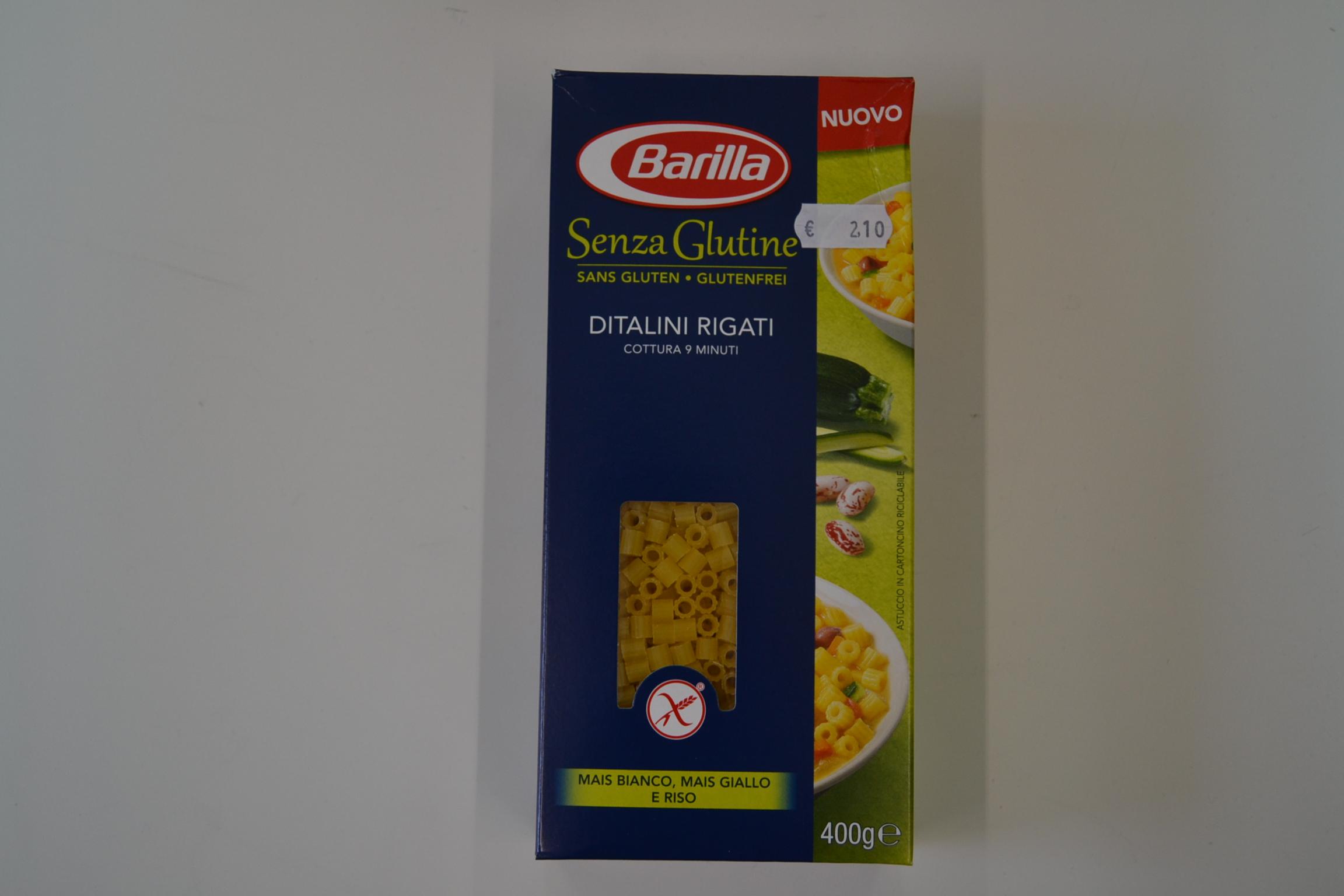 Ditalini rigati BARILLA € 2,10