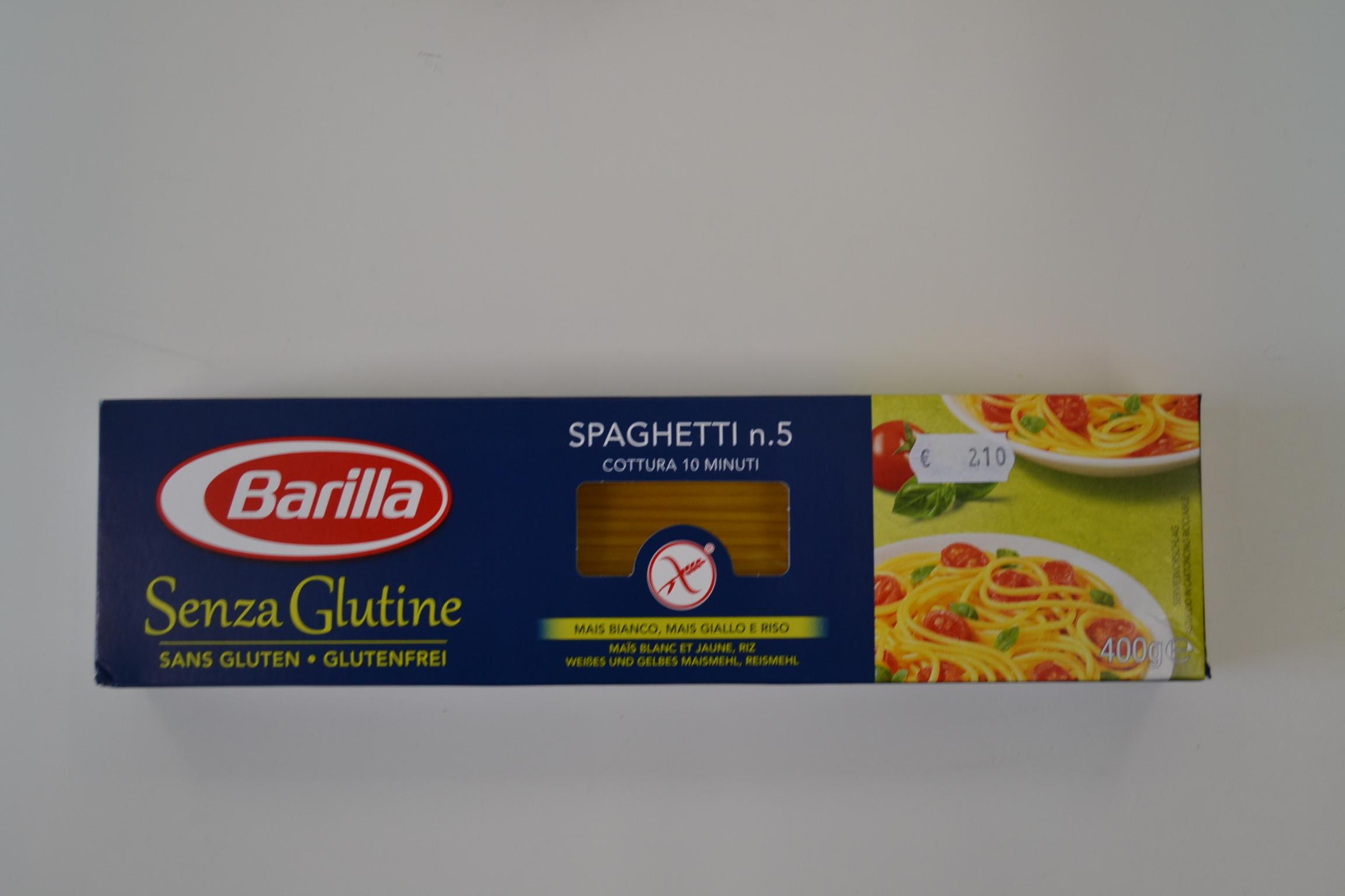 Spaghetti n5 BARILLA € 2,10