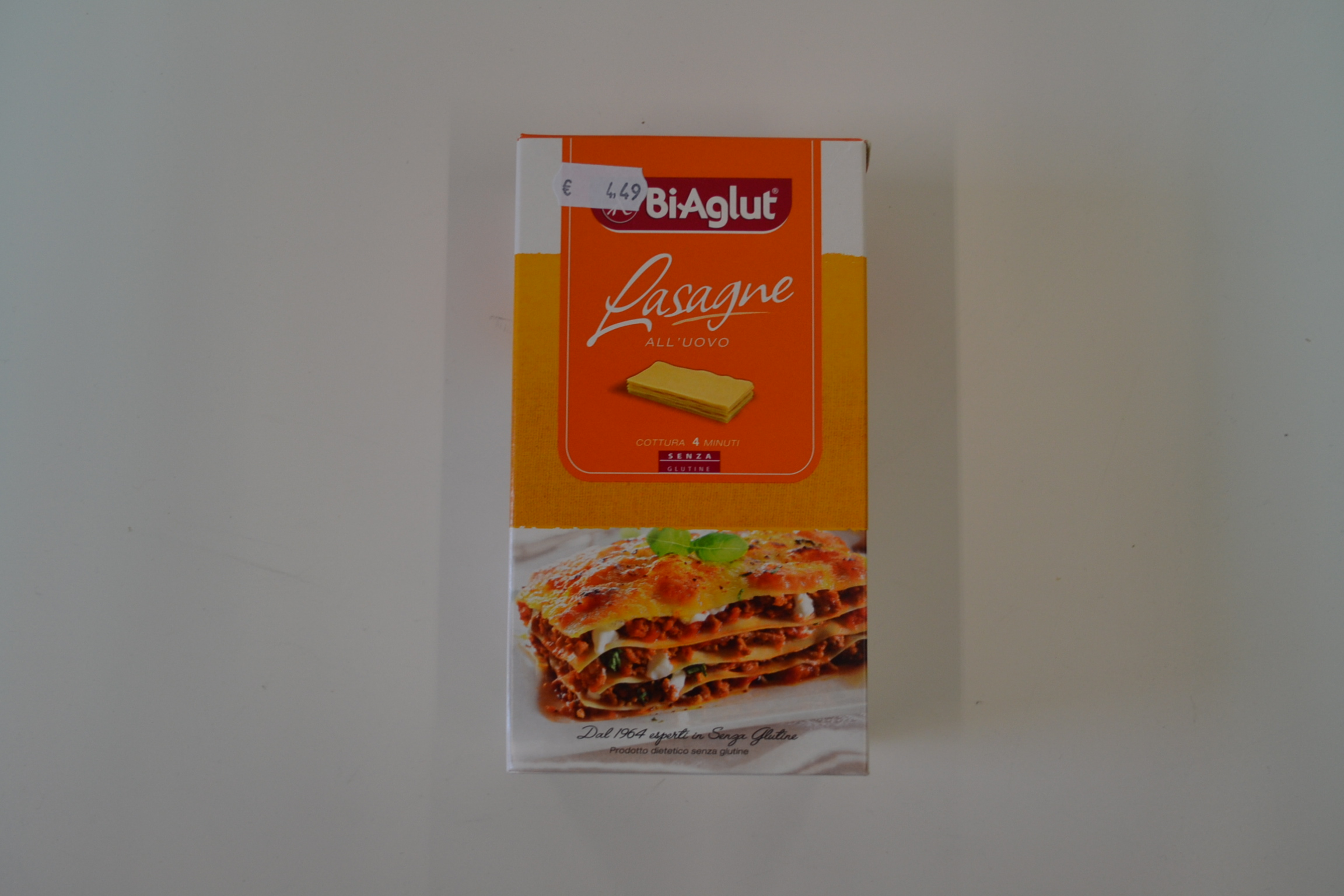 Lasagne all'uovo BIAGLUT € 4,49