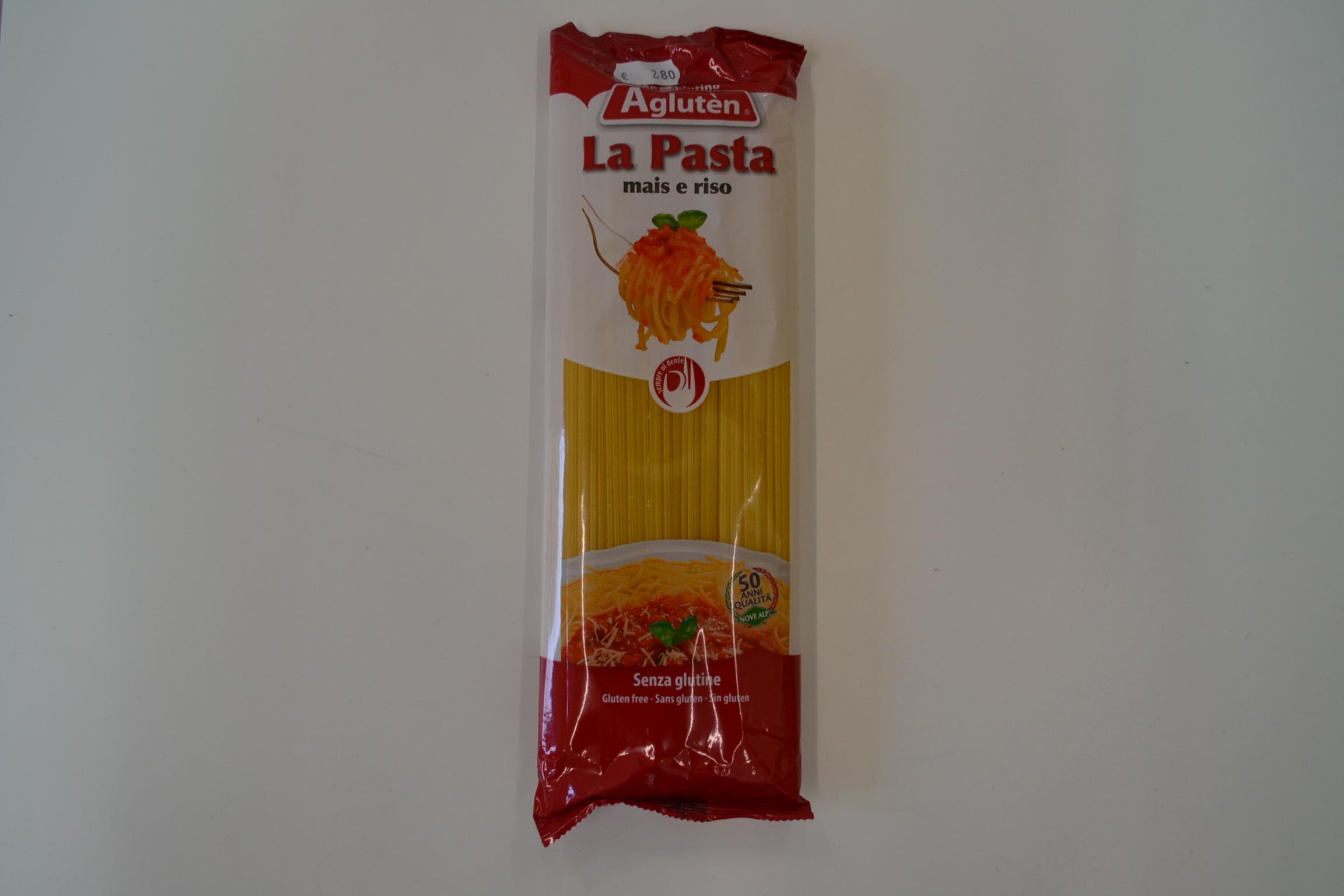 Spaghetti AGLUTEN € 2,80