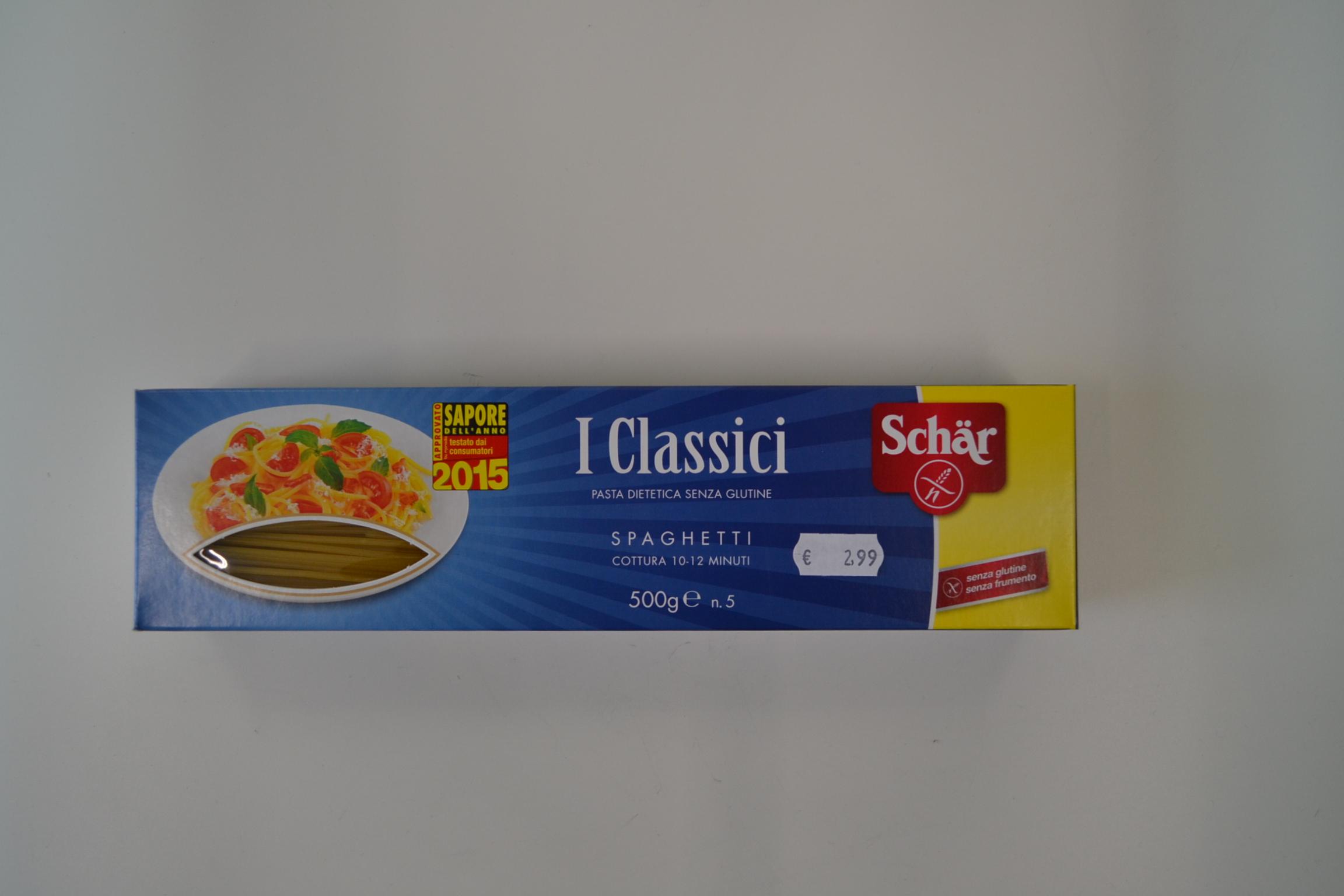 Spaghetti n5 SCHAR € 2,99