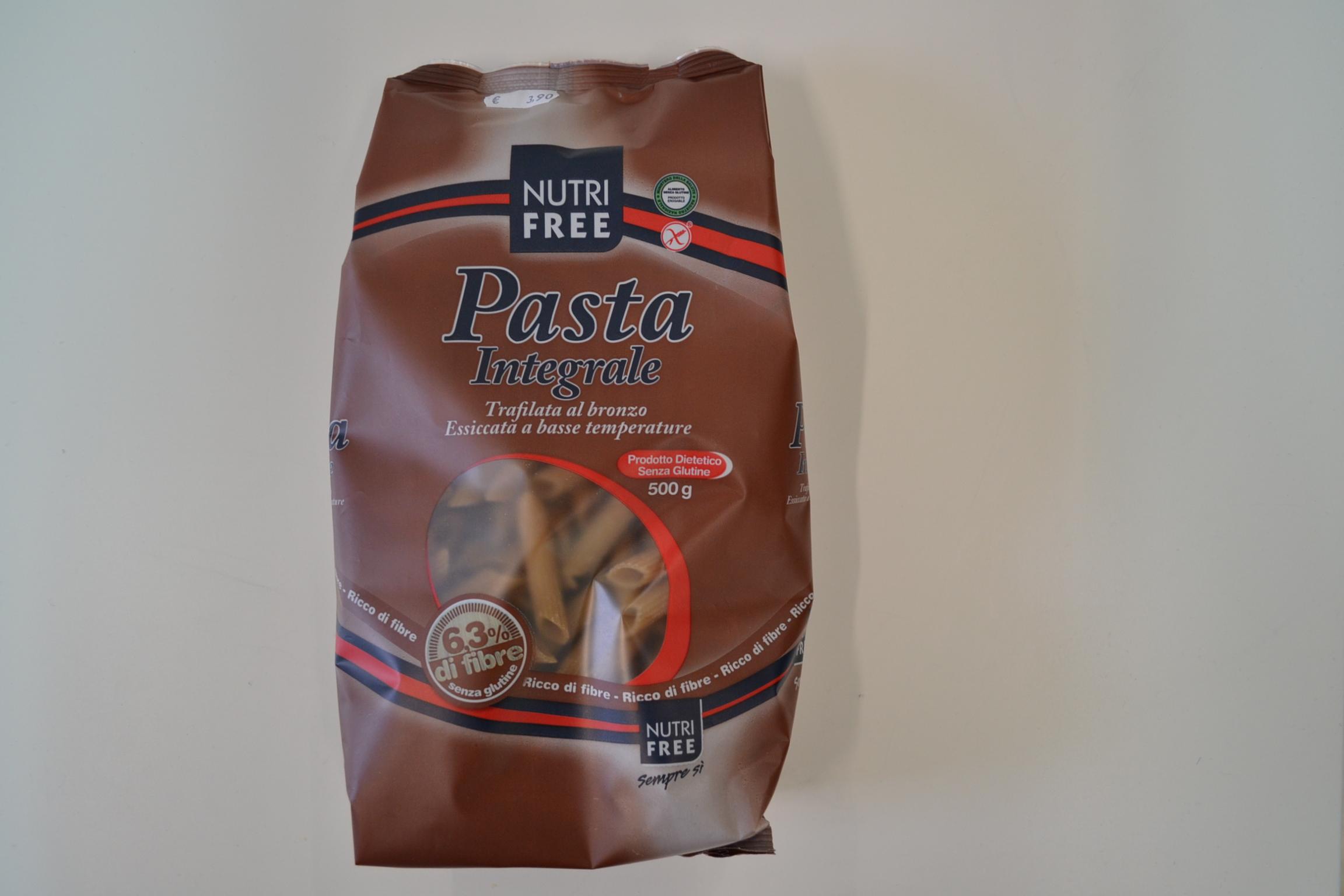 Pasta integrale Penne NUTRI FREE € 3,90