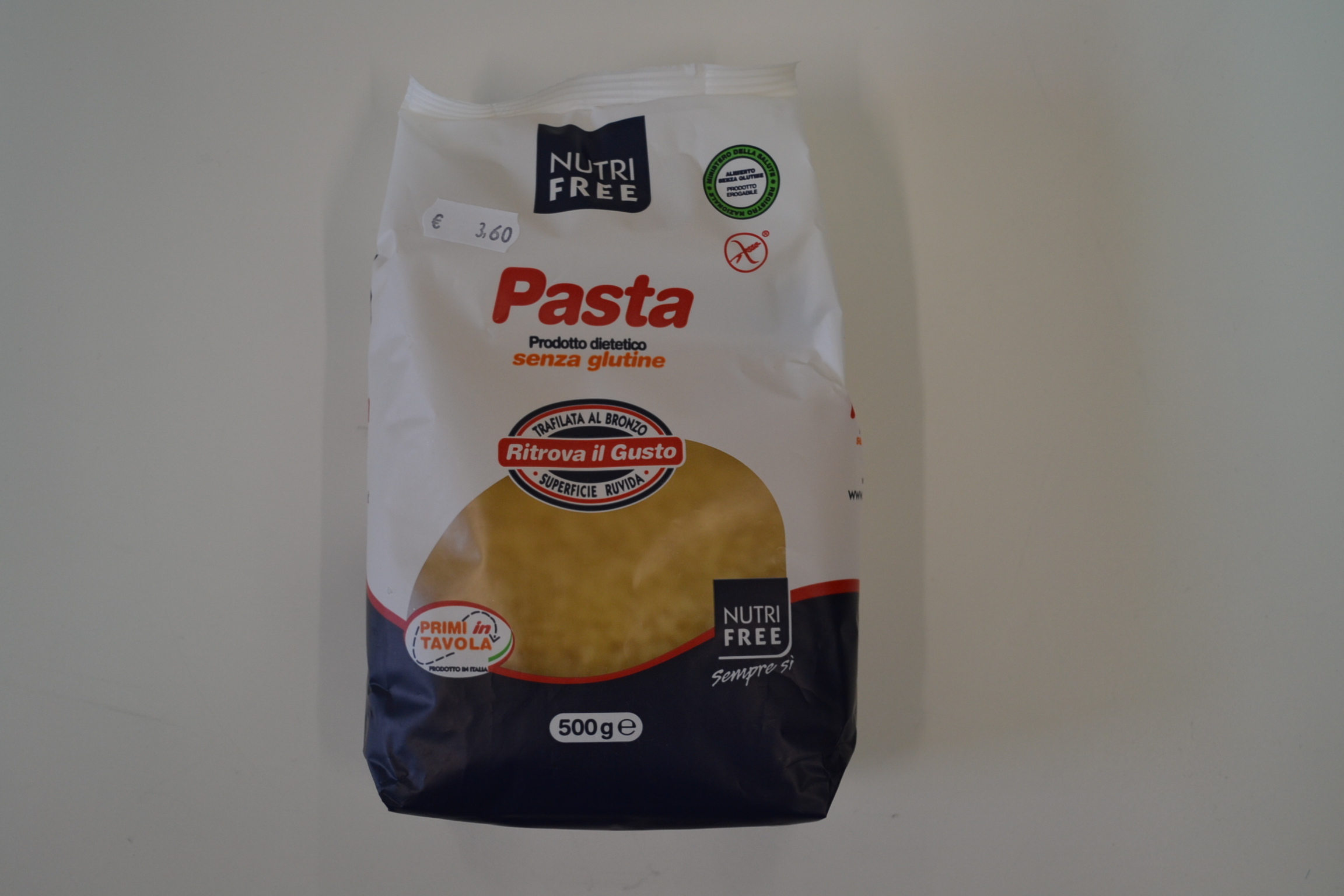 Pasta minestre NUTRI FREE € 3,60
