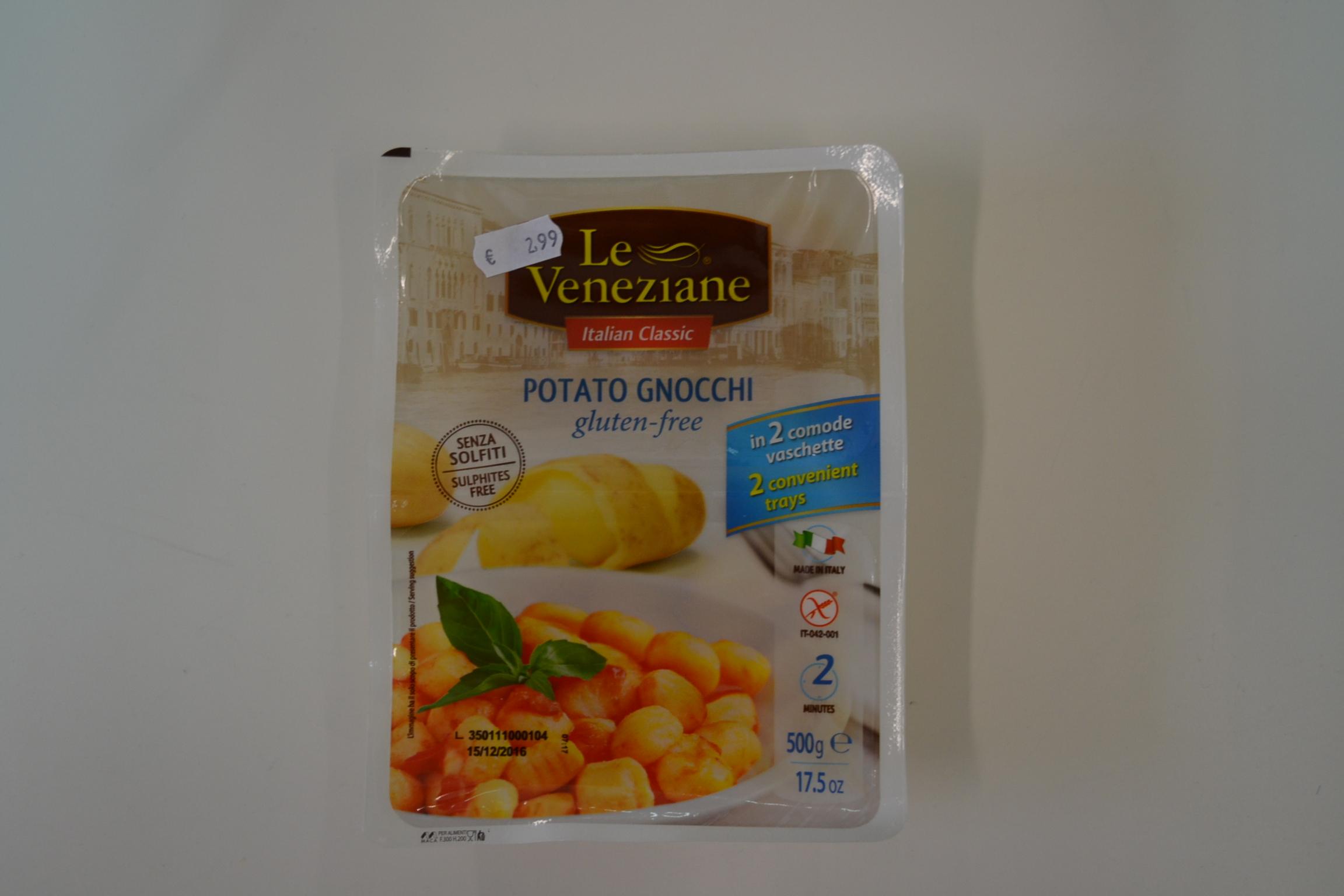 Potato gnocchi LE VENEZIANE € 2,99