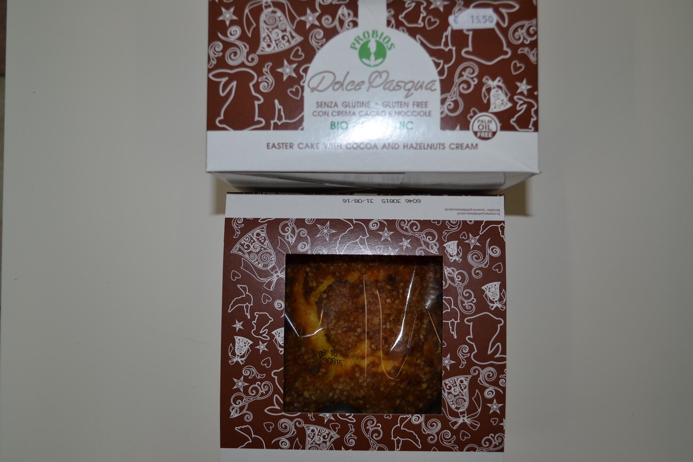 Colomba al cacao PROBIOS biologica € 15,50