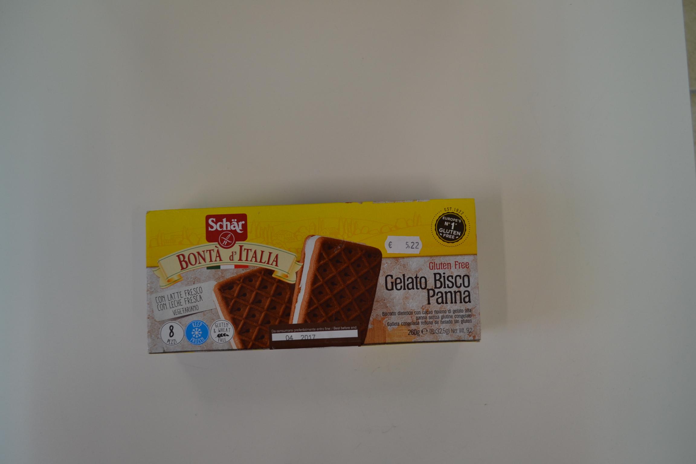 Gelato Bisco Panna SCHAR € 5,22