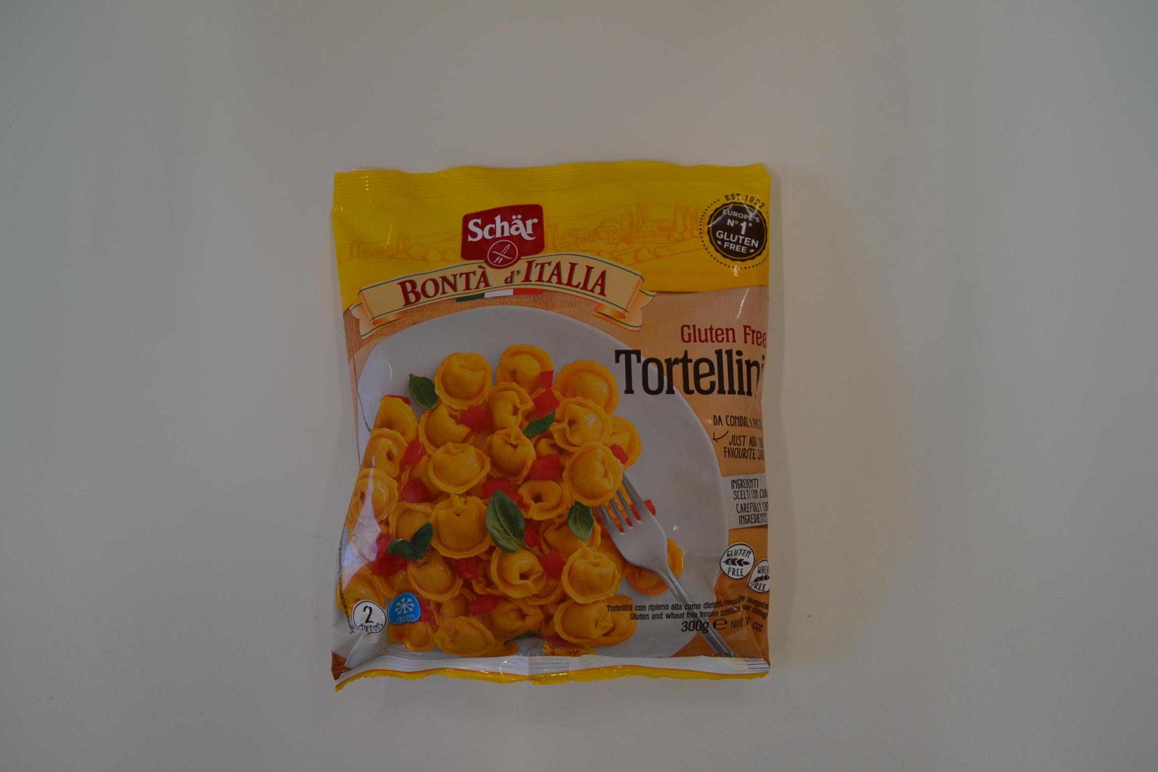"""Tortellini SCHAR € 4,85  """"PRODOTTO SURGELATO"""""""